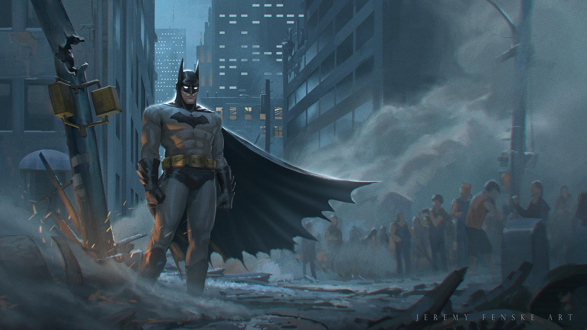 Batman Art Wallpaper theme