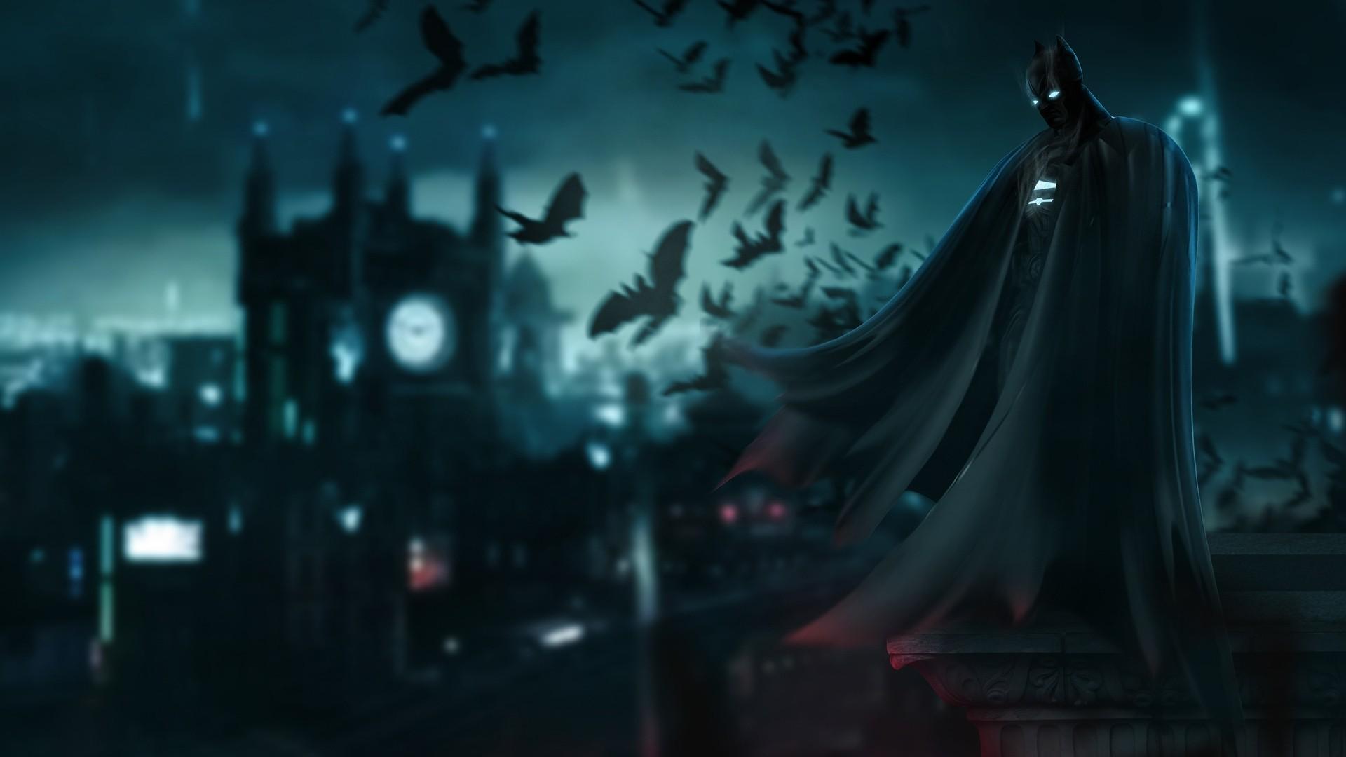 Batman Art Desktop Wallpaper