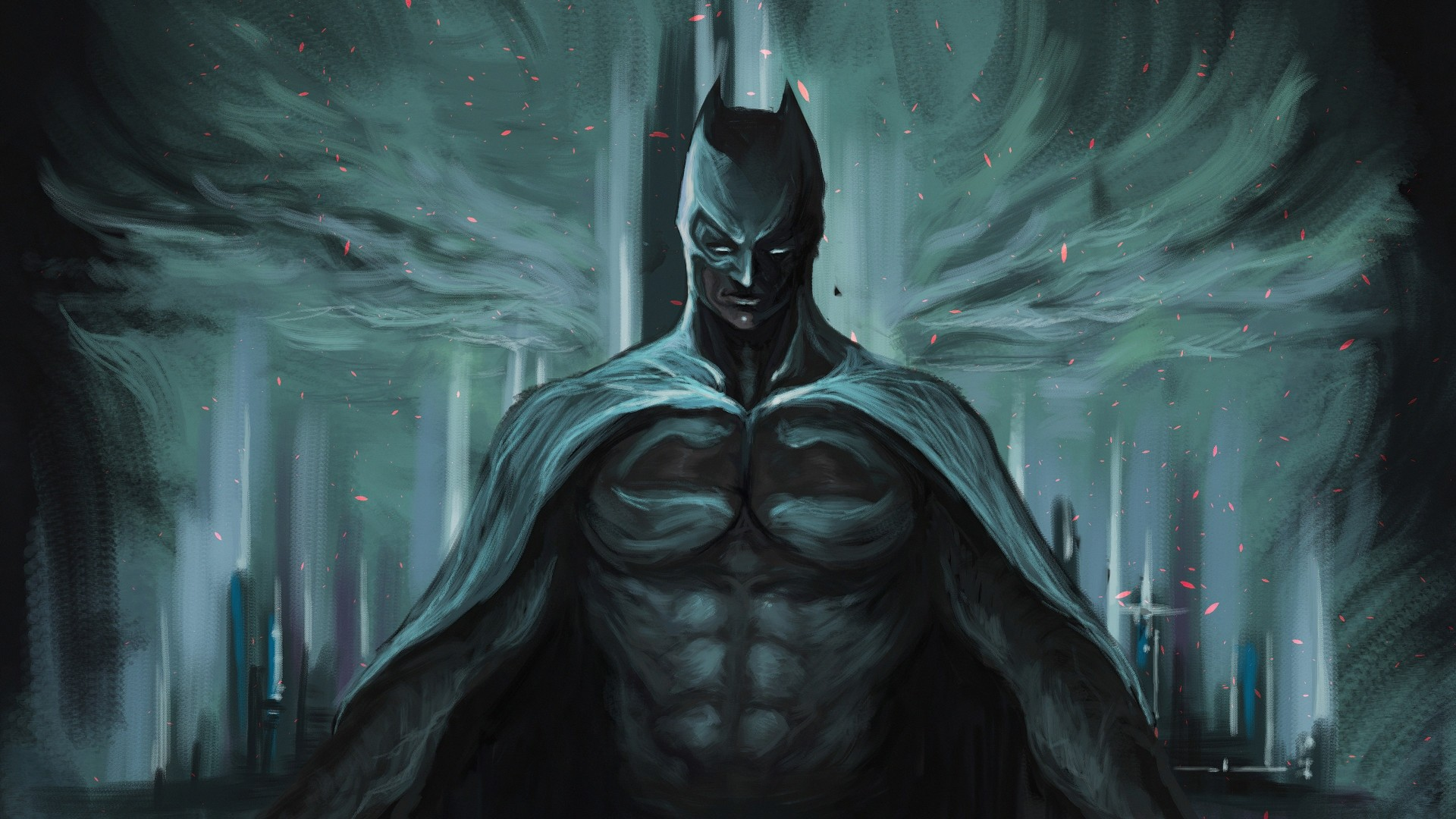 Batman Art Background
