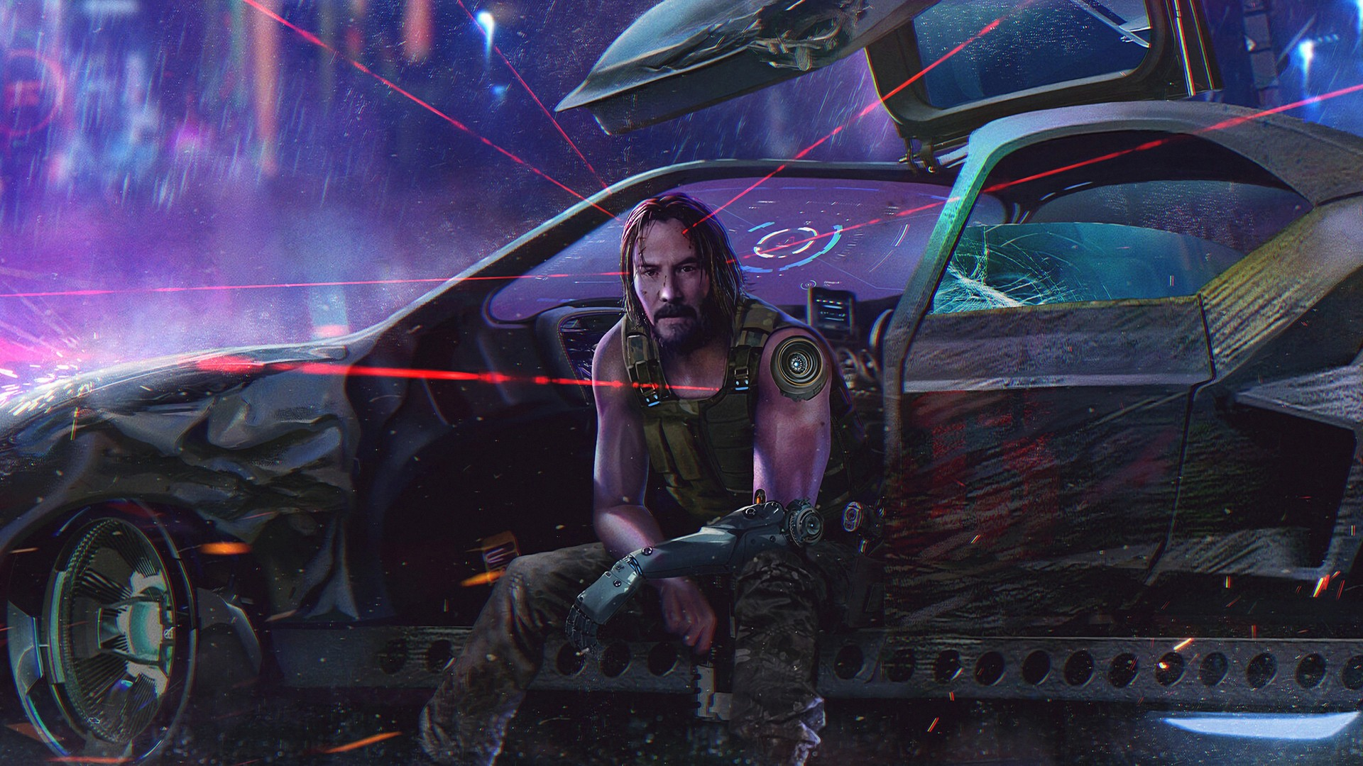 Cyberpunk 2077 Poster Picture