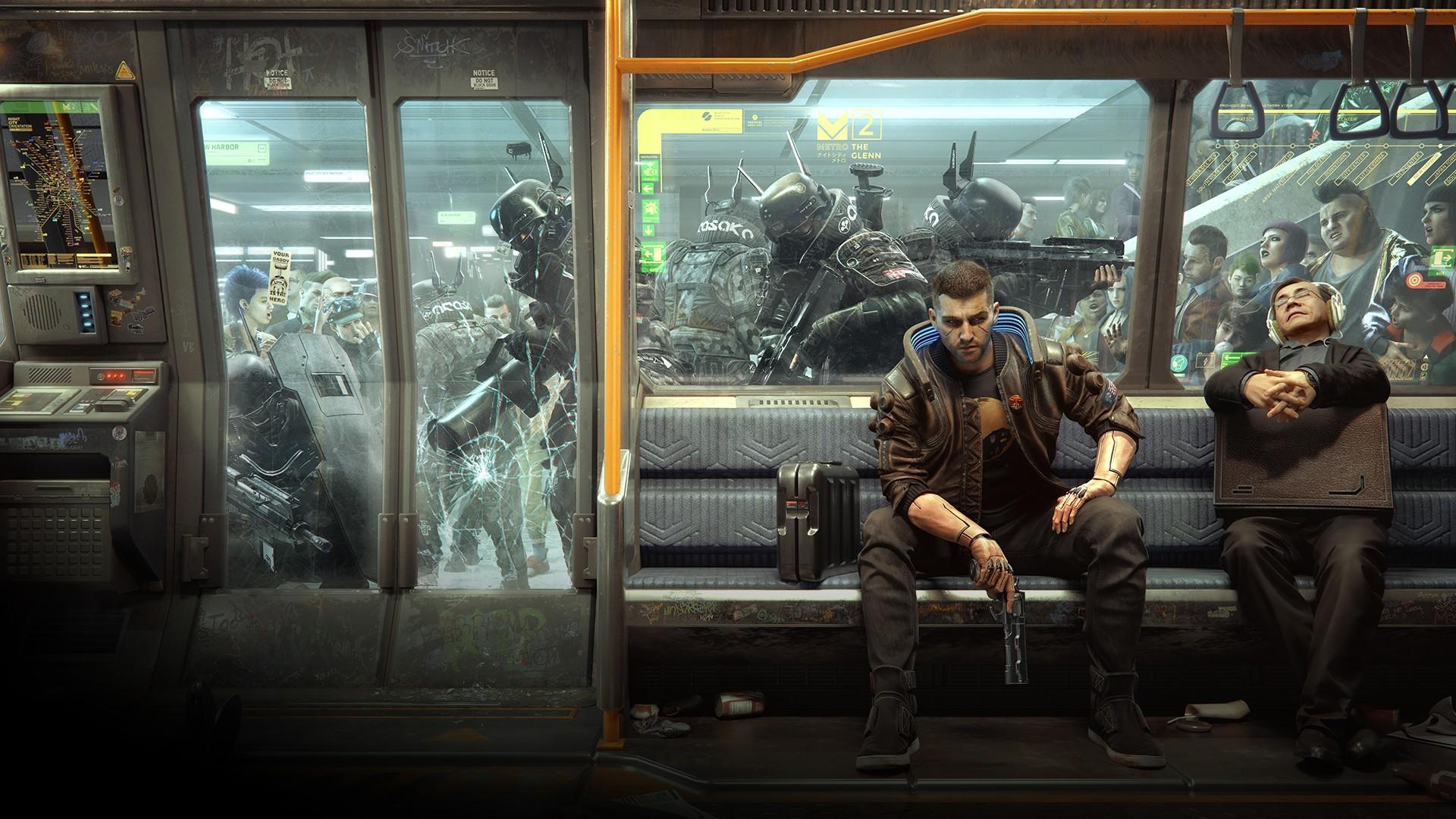 Cyberpunk 2077 Poster wallpaper for desktop