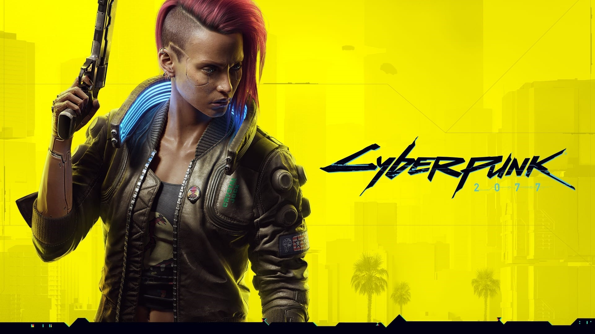 Cyberpunk 2077 Poster Wallpaper theme