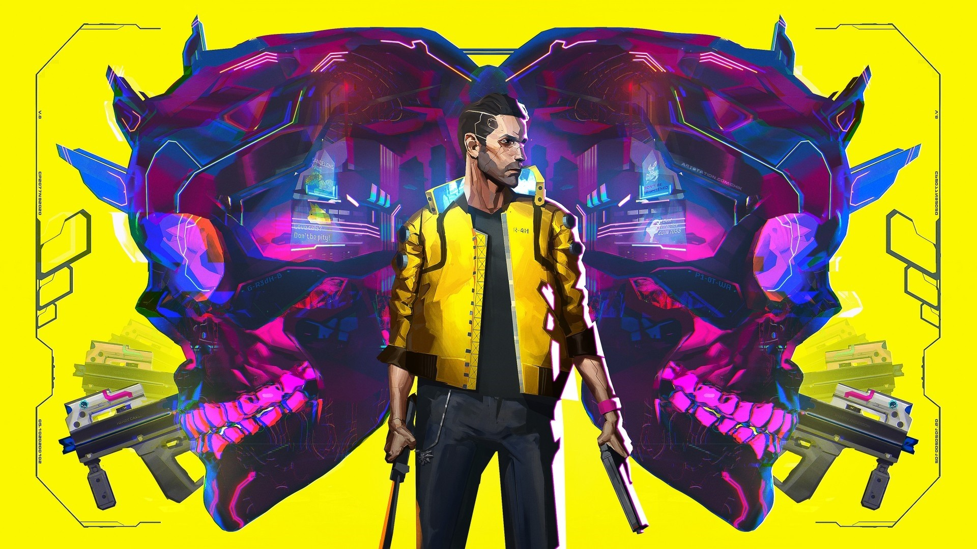 Cyberpunk 2077 Poster computer wallpaper