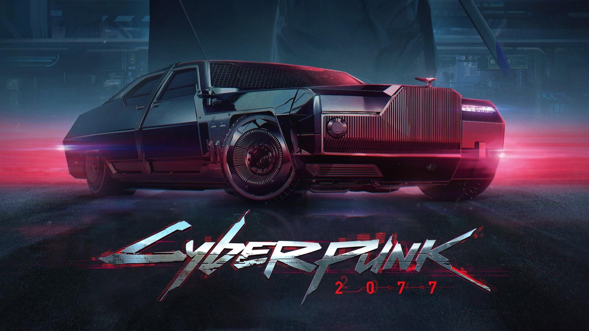 Cyberpunk 2077 Poster Wallpaper