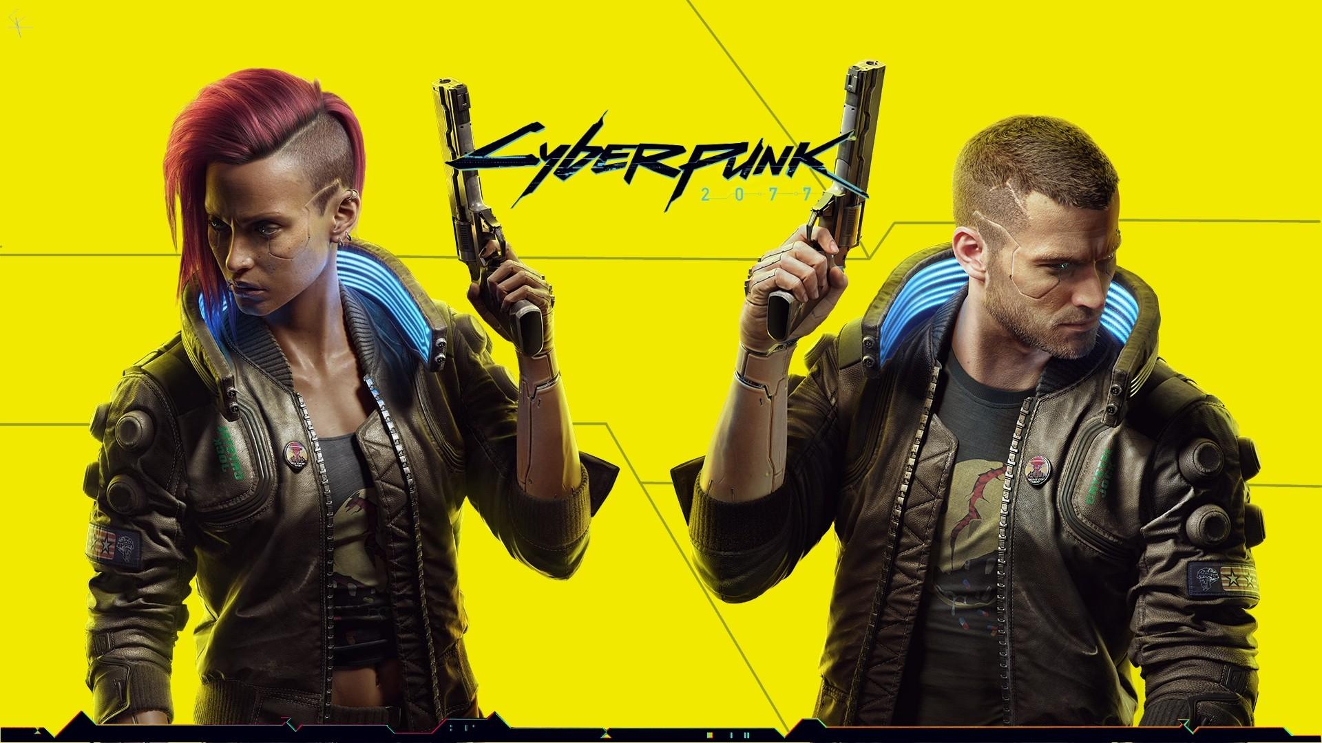 Cyberpunk 2077 Poster Background