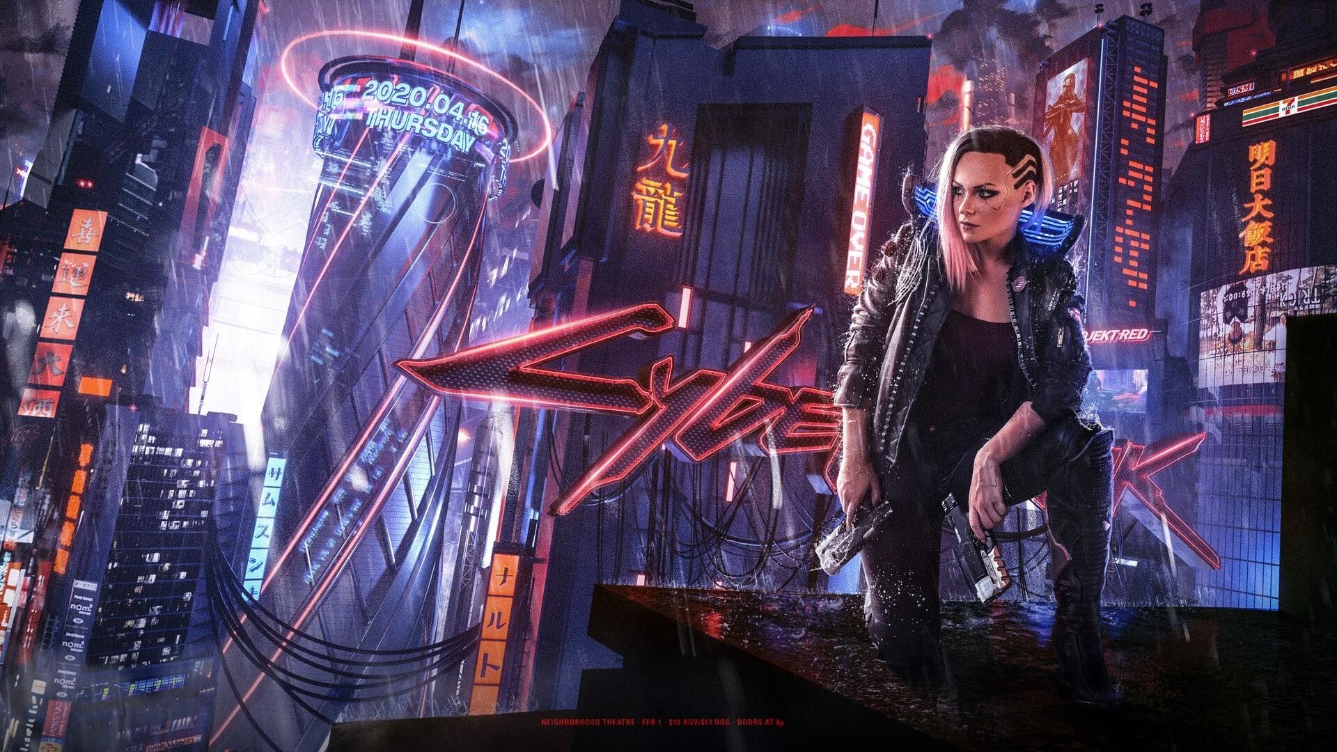 Cyberpunk 2077 Poster HD Wallpaper