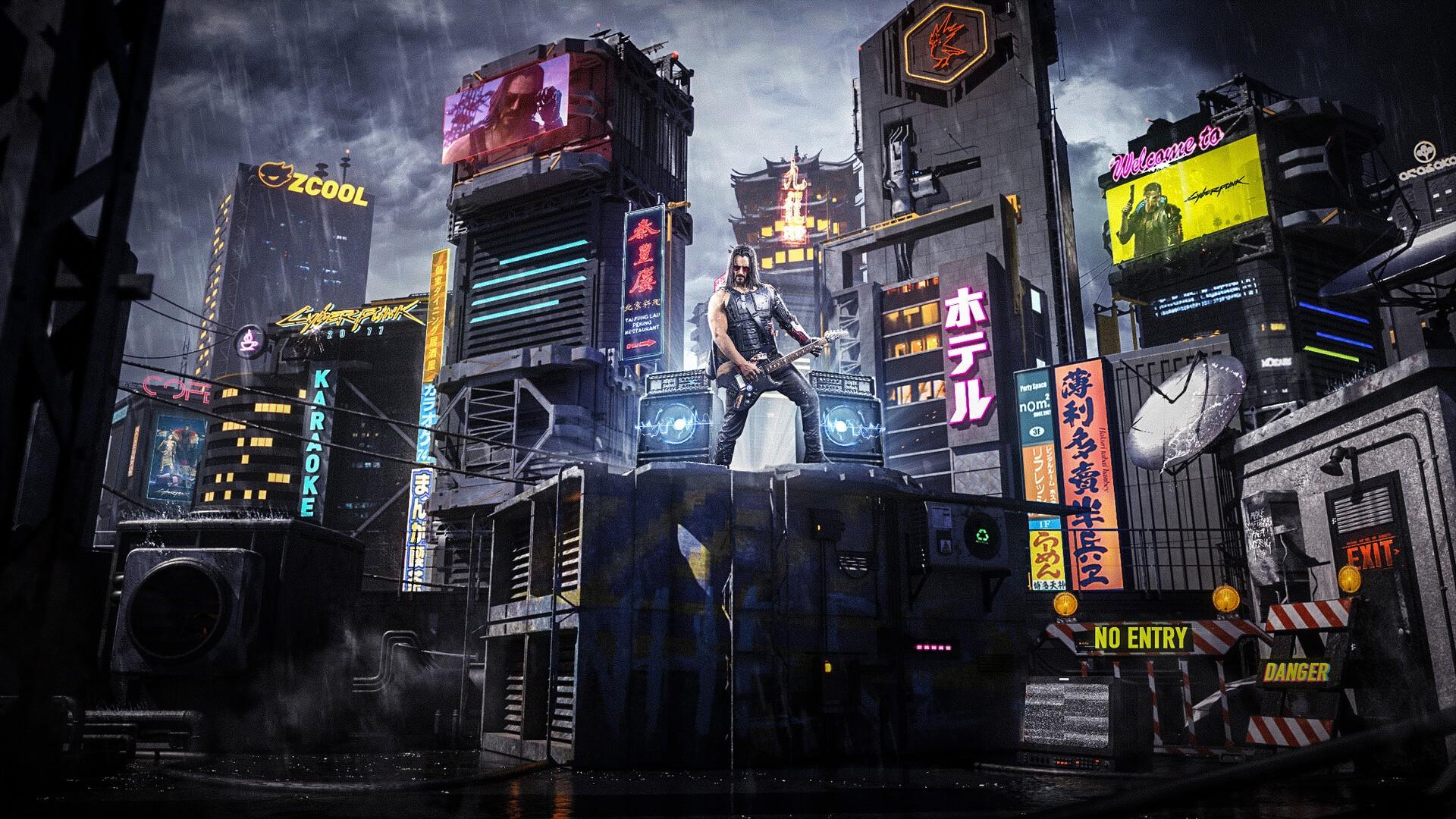 Cyberpunk 2077 Poster Pic