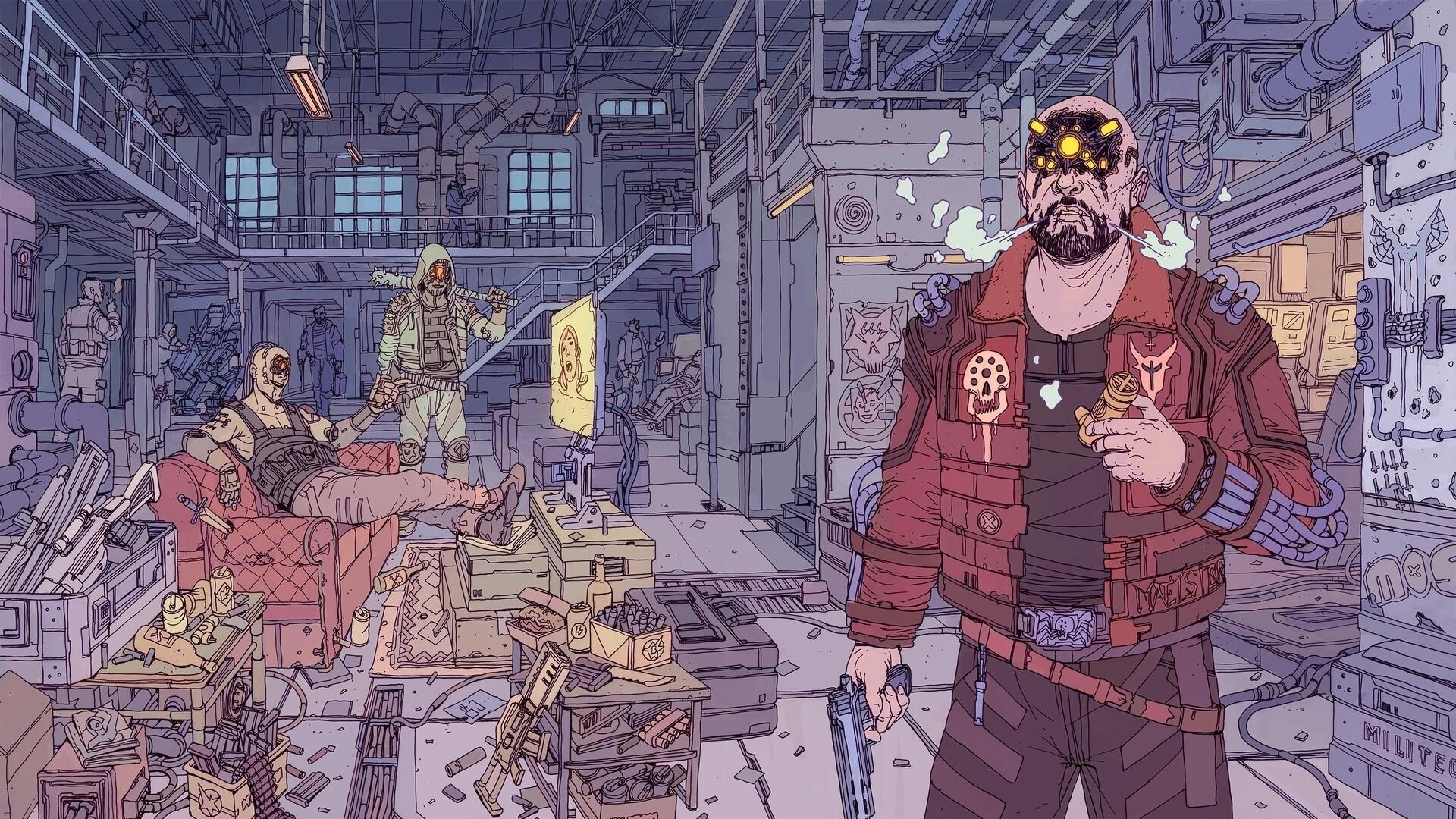 Cyberpunk 2077 Poster Desktop Wallpaper