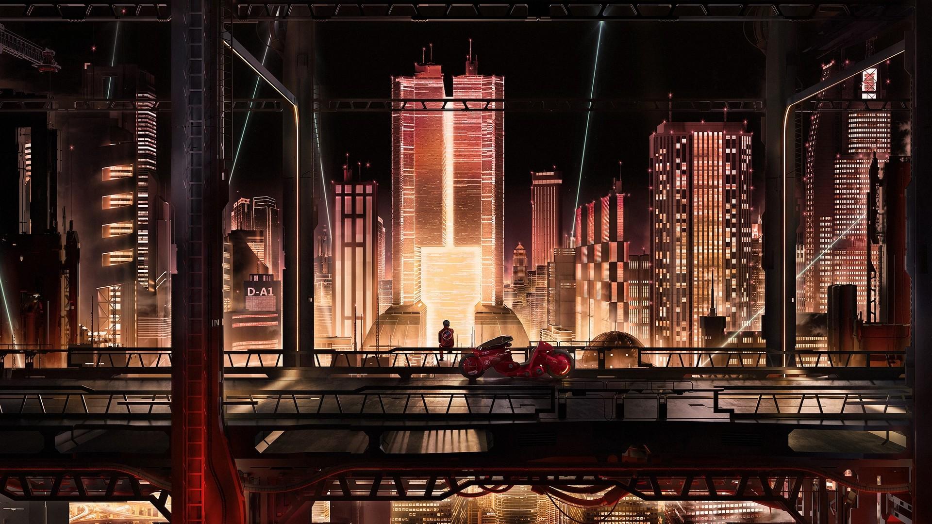 Cyberpunk City Art HD Wallpaper