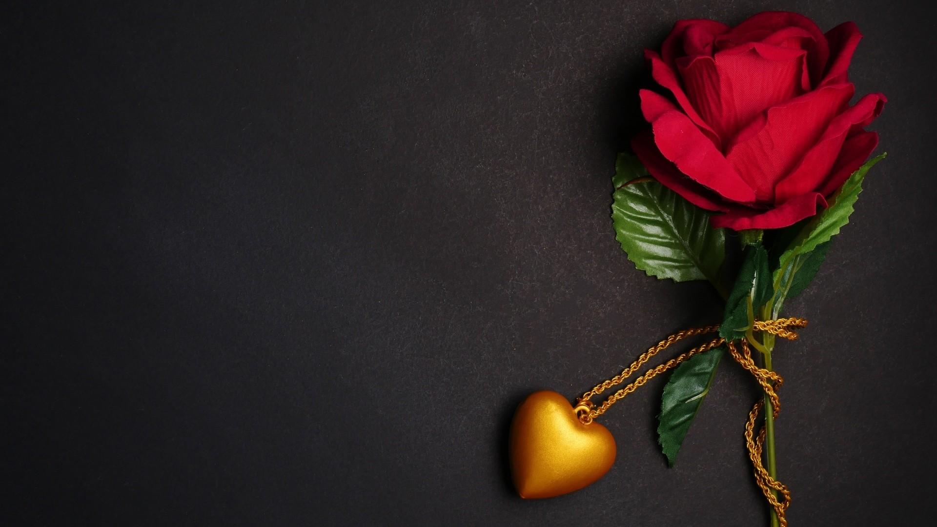 Love Dark Background