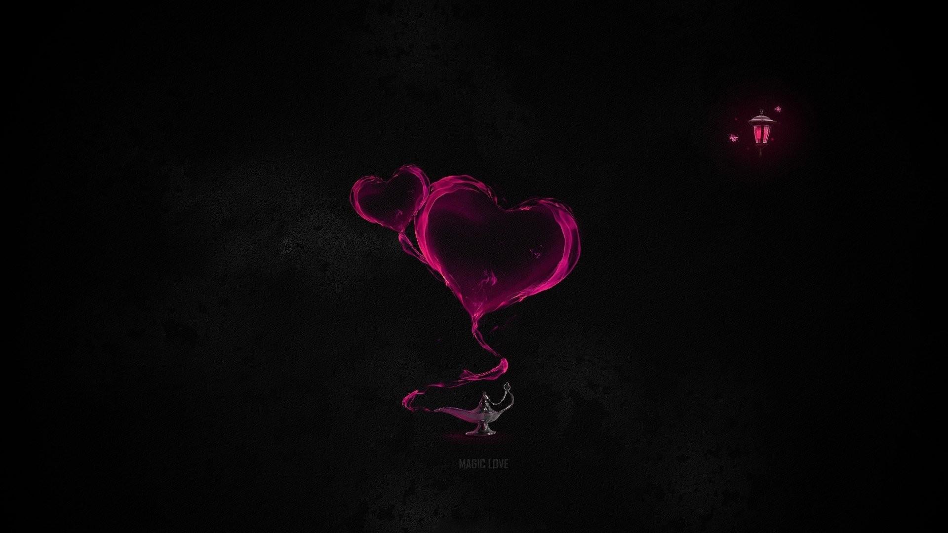 Love Dark Wallpaper