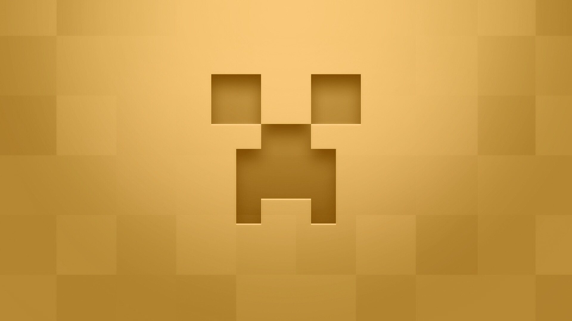 Minecraft Minimalist Desktop Wallpaper