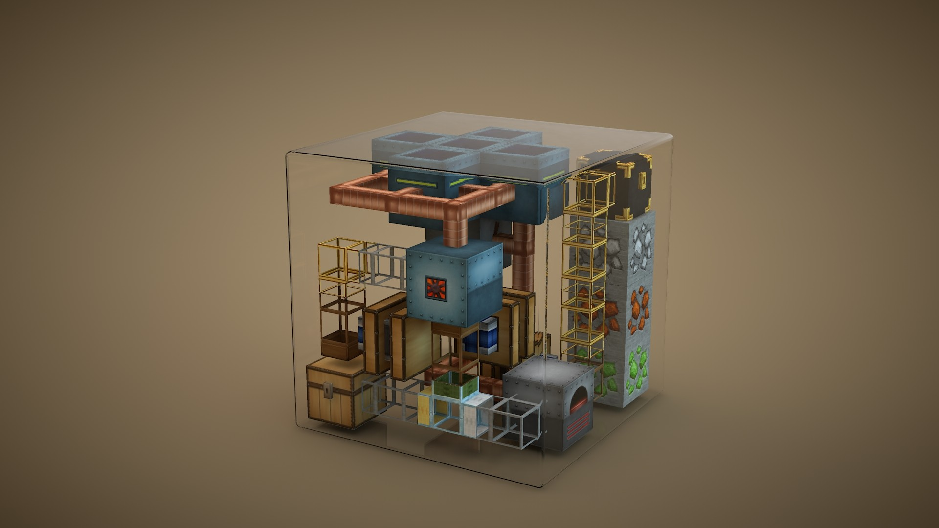 Minecraft Minimalist Pic