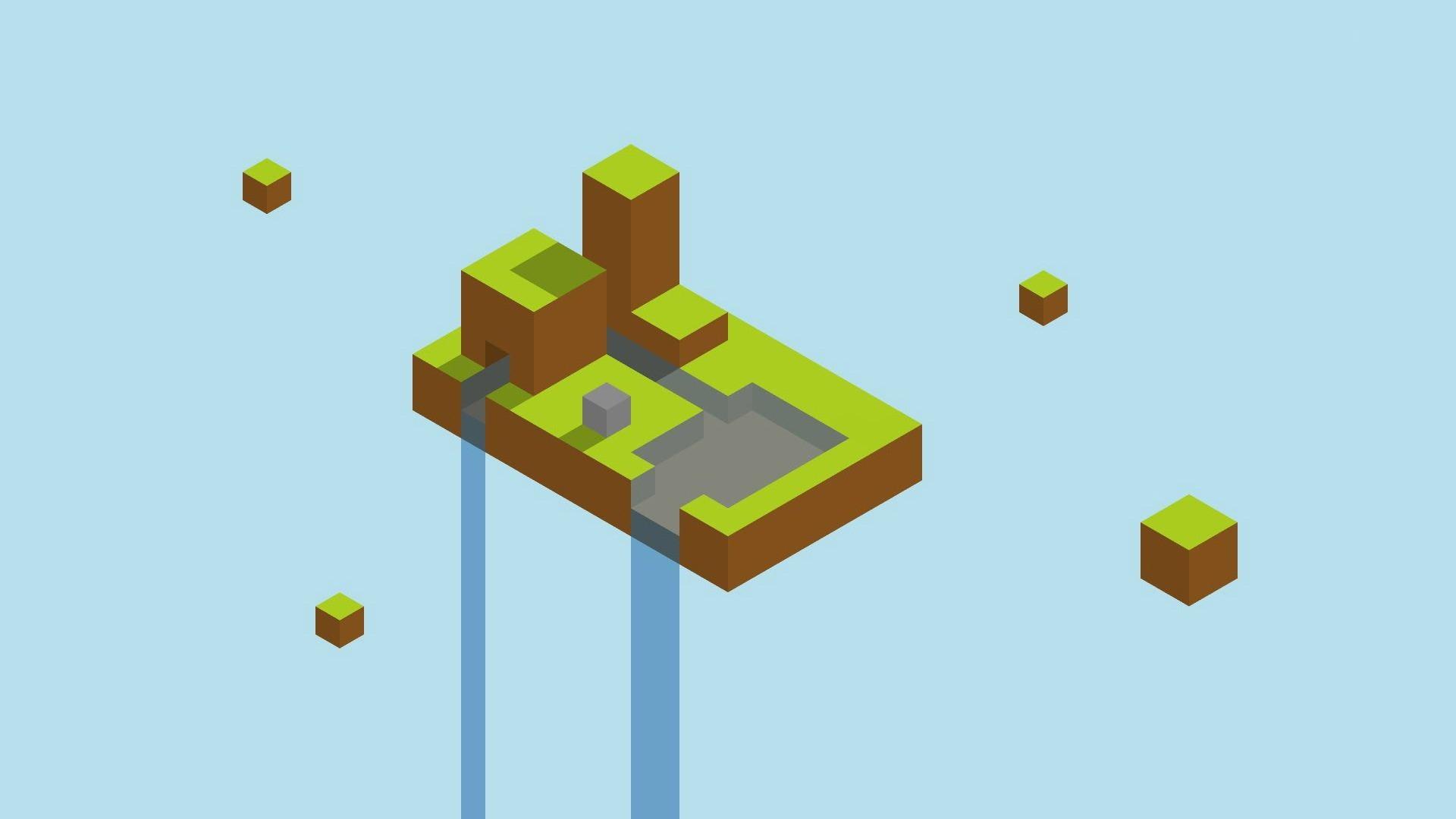 Minecraft Minimalist Image