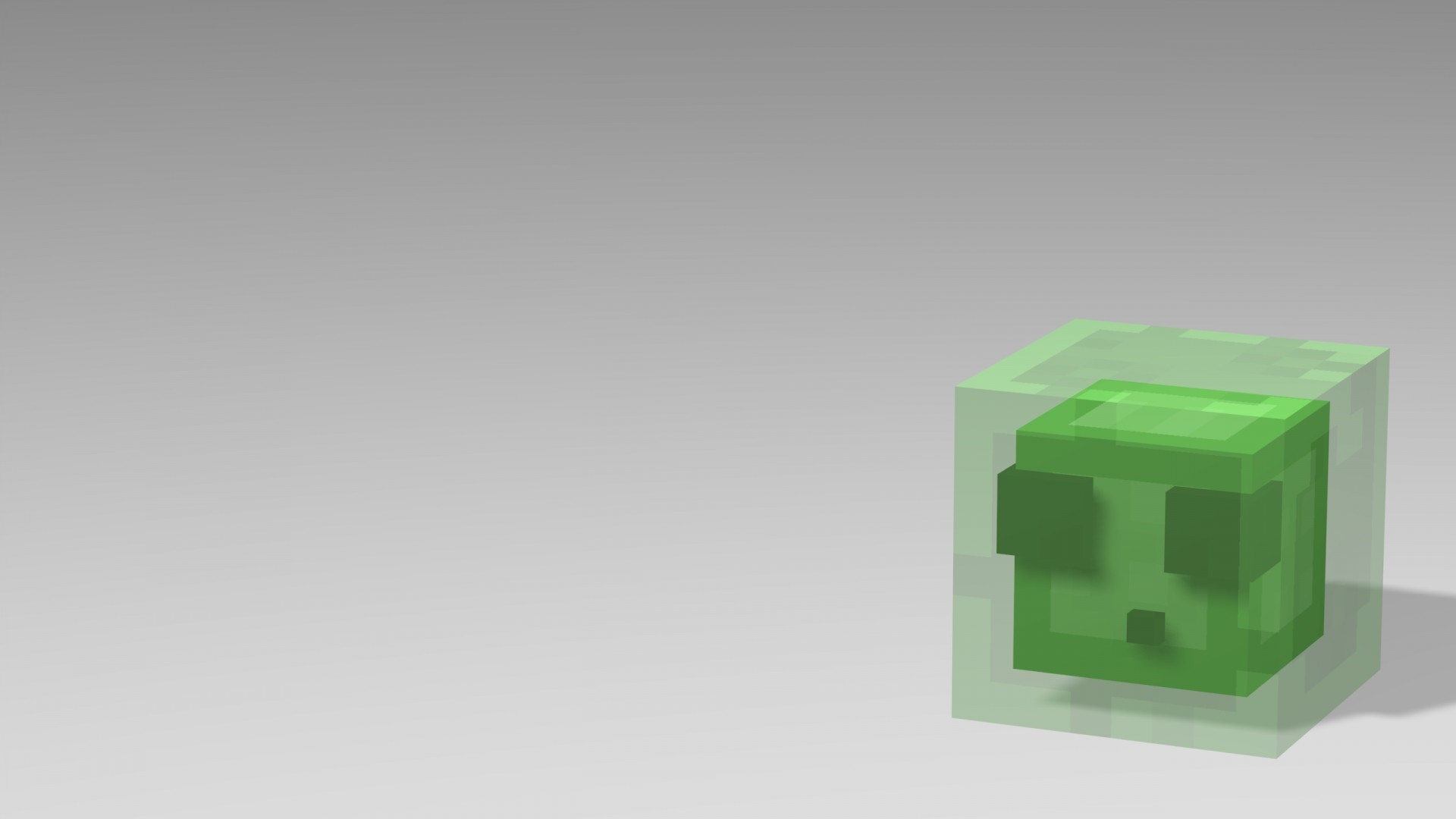 Minecraft Minimalist wallpaper for computer