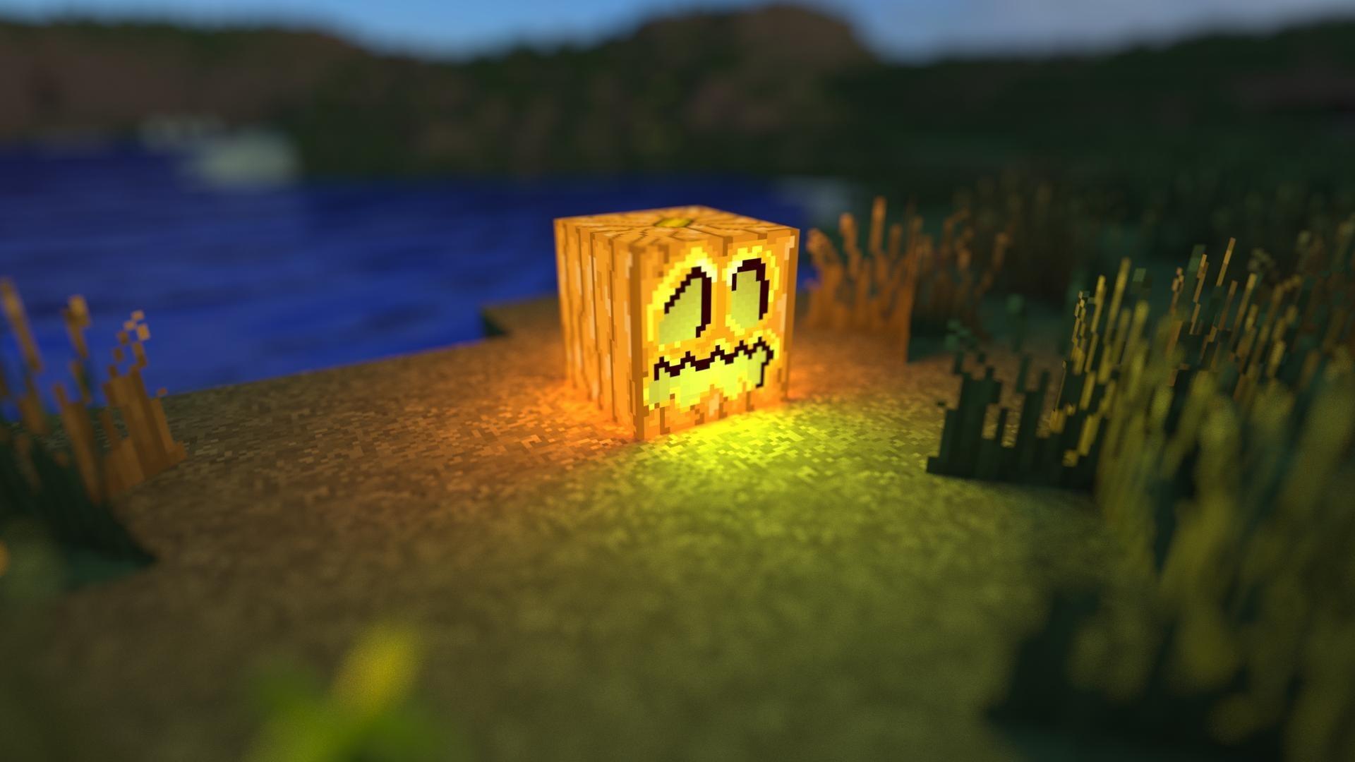 Minecraft Minimalist desktop wallpaper hd