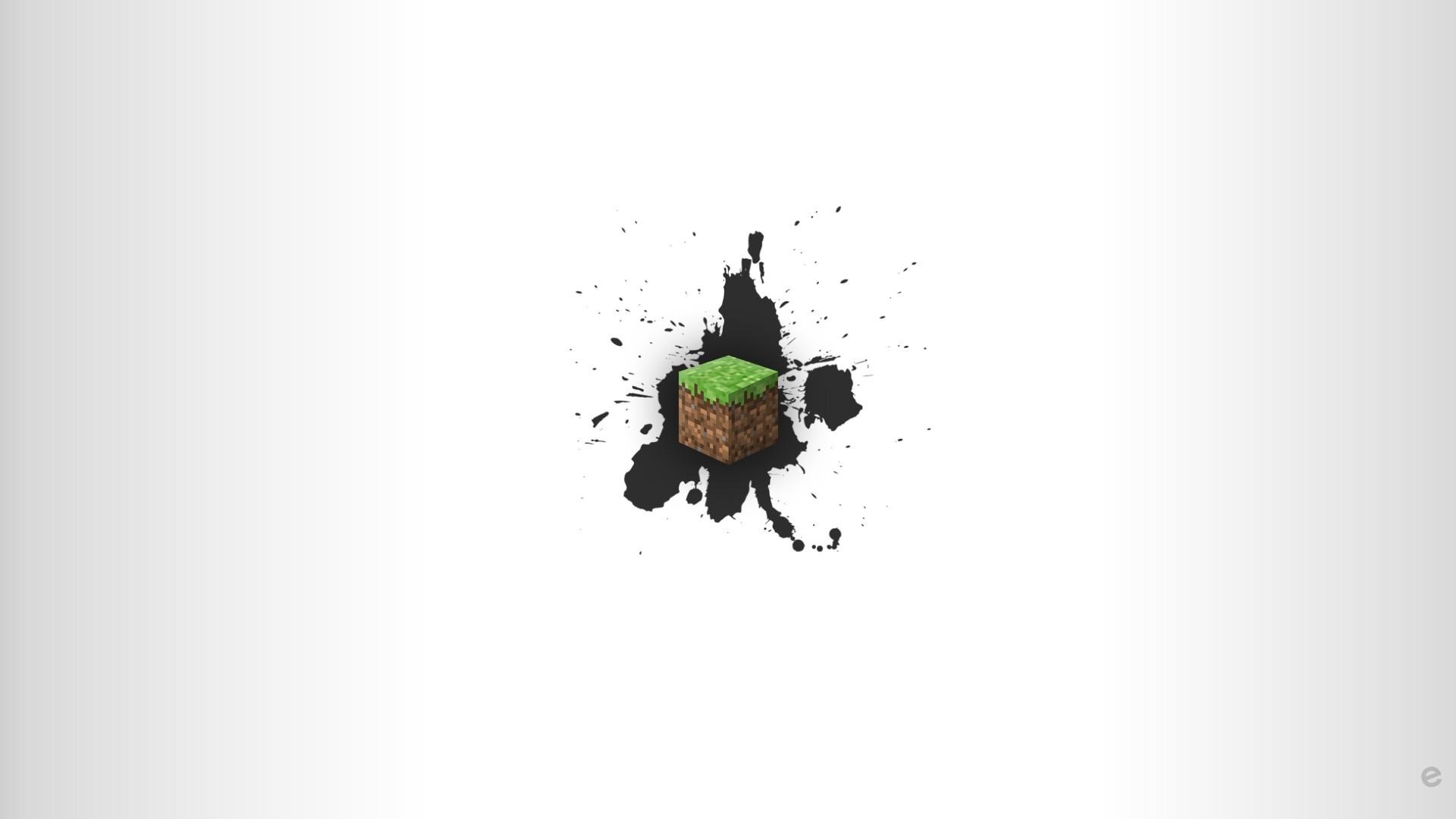 Minecraft Minimalist Wallpaper theme
