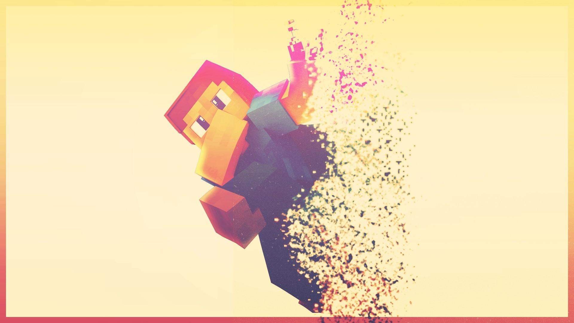 Minecraft Minimalist Background
