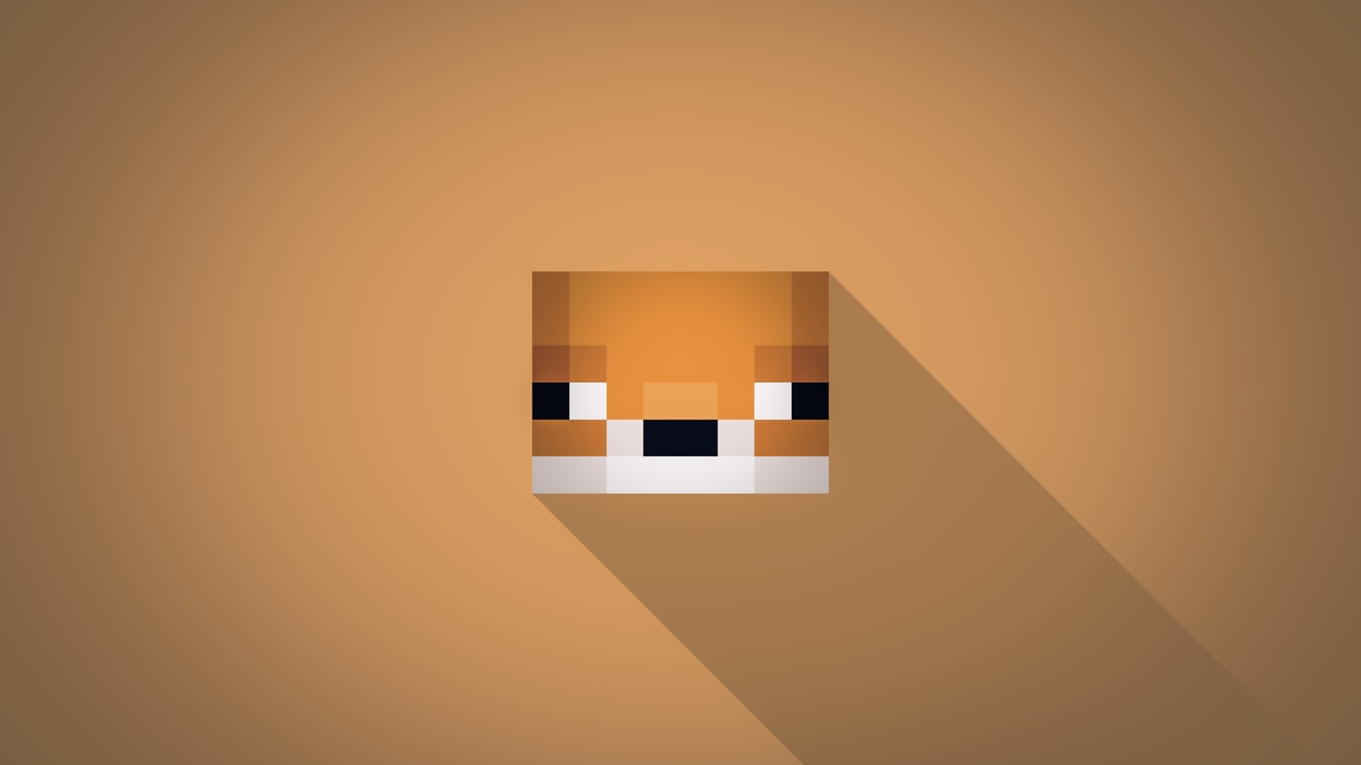 Minecraft Minimalist Picture