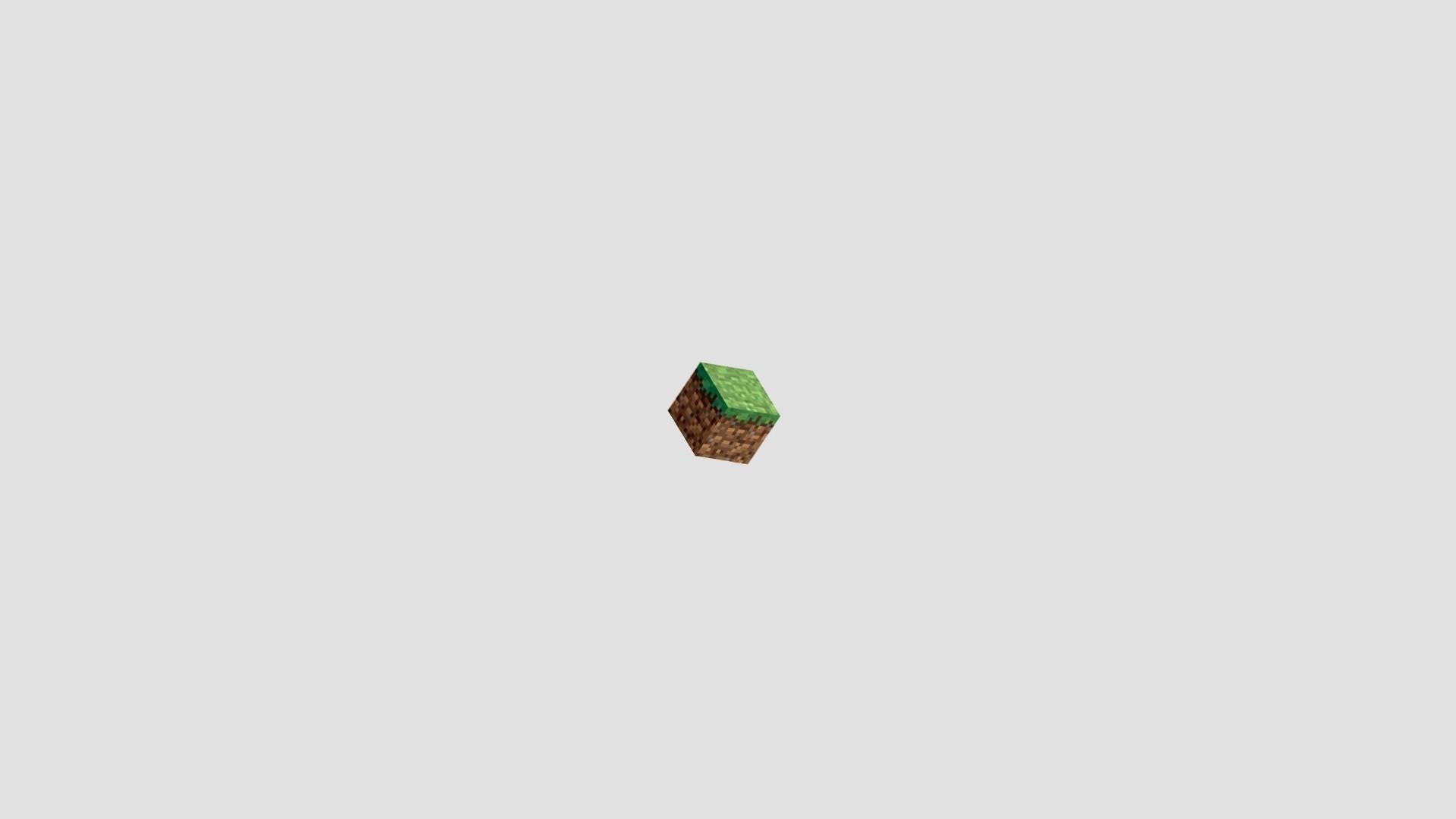 Minecraft Minimalist wallpaper for desktop