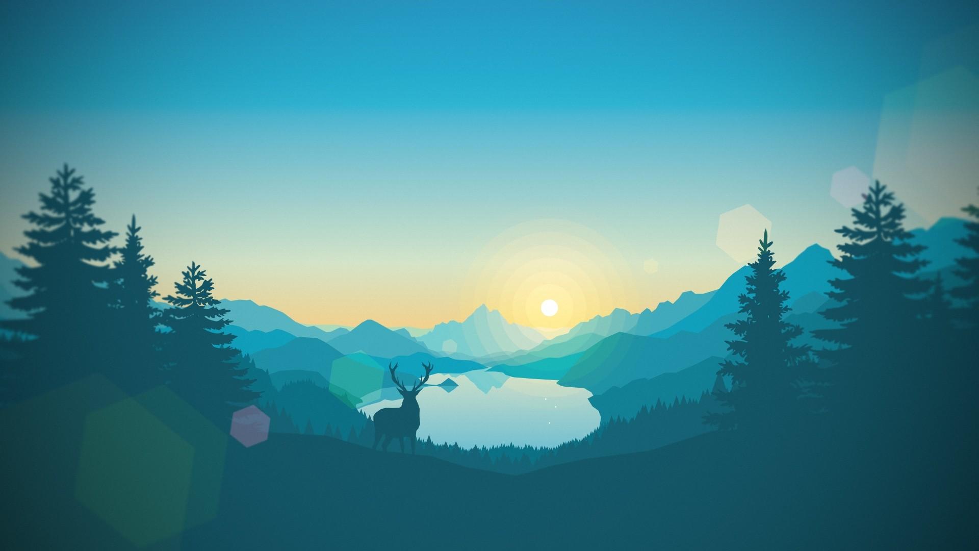 Nature Minimalist Style Image