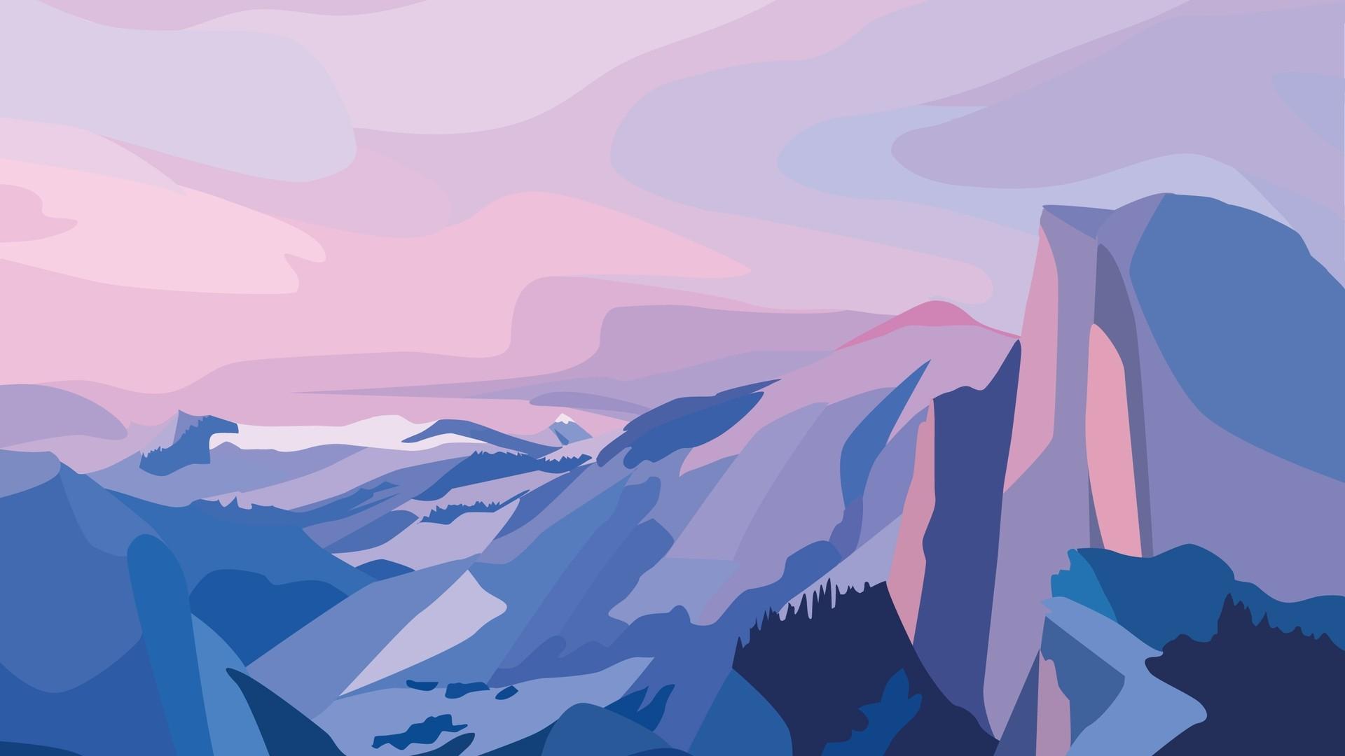 Nature Minimalist Style HD Wallpaper