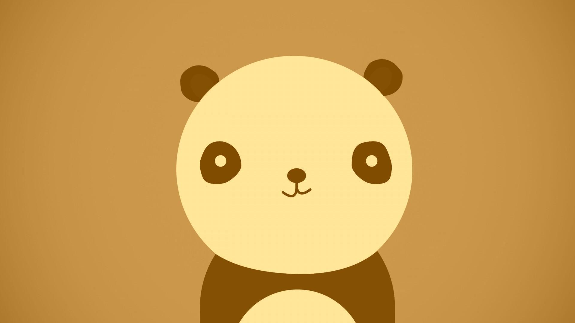 Panda Minimalist Picture