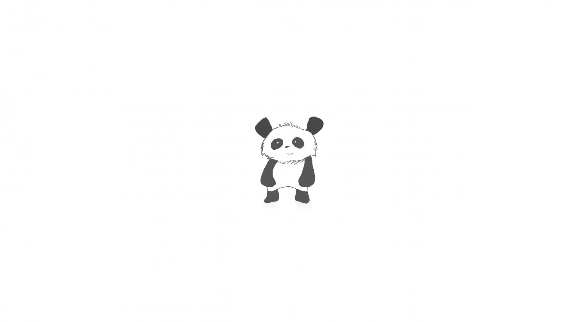 Panda Minimalist Pic