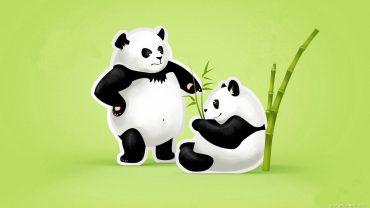 Panda Minimalist Image