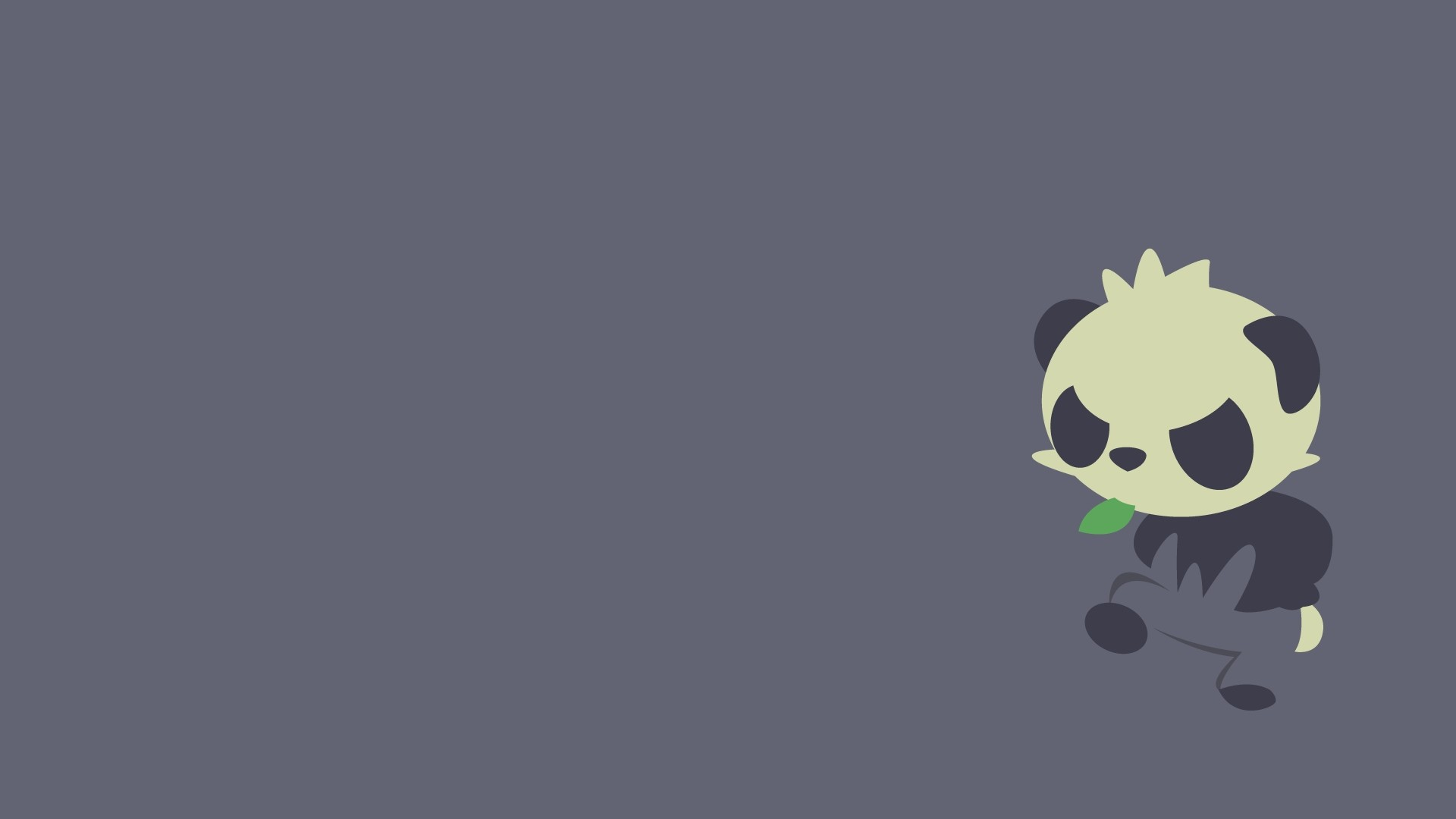 Panda Minimalist wallpaper for computer