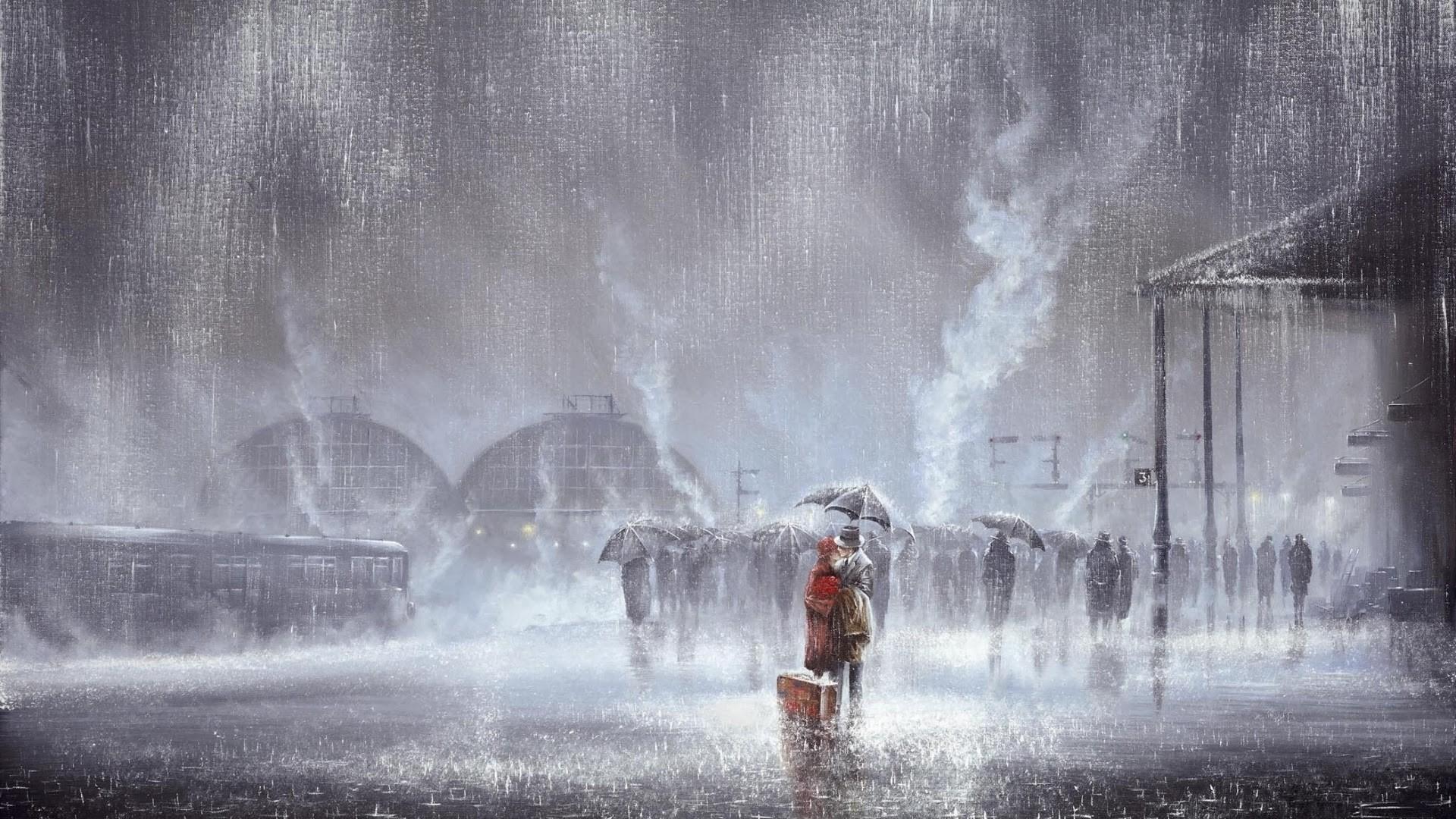 Rain Art Pic