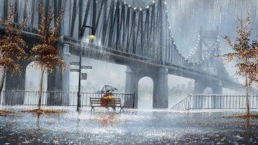Rain Art HD Wallpaper