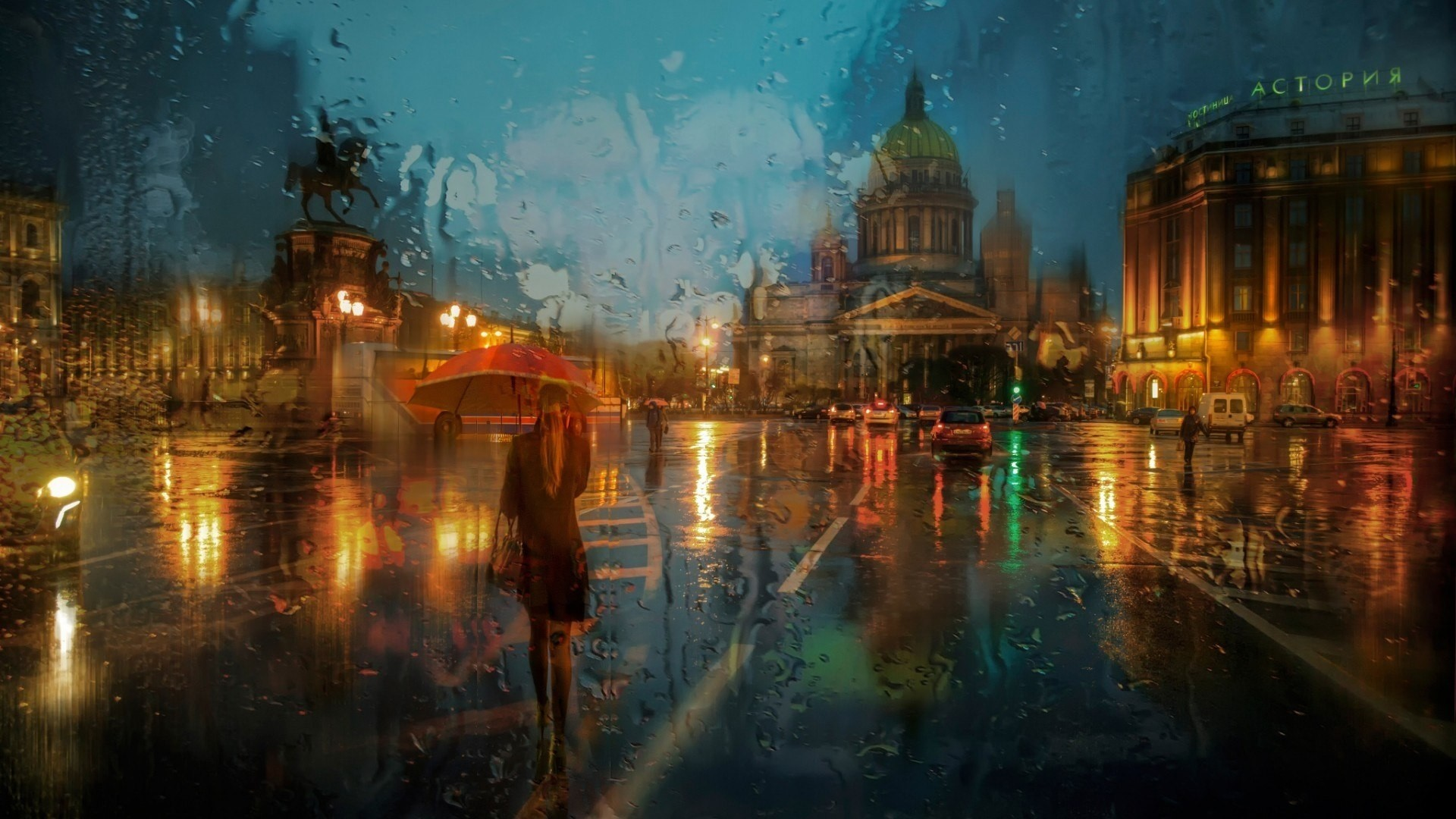 Rain Art Image