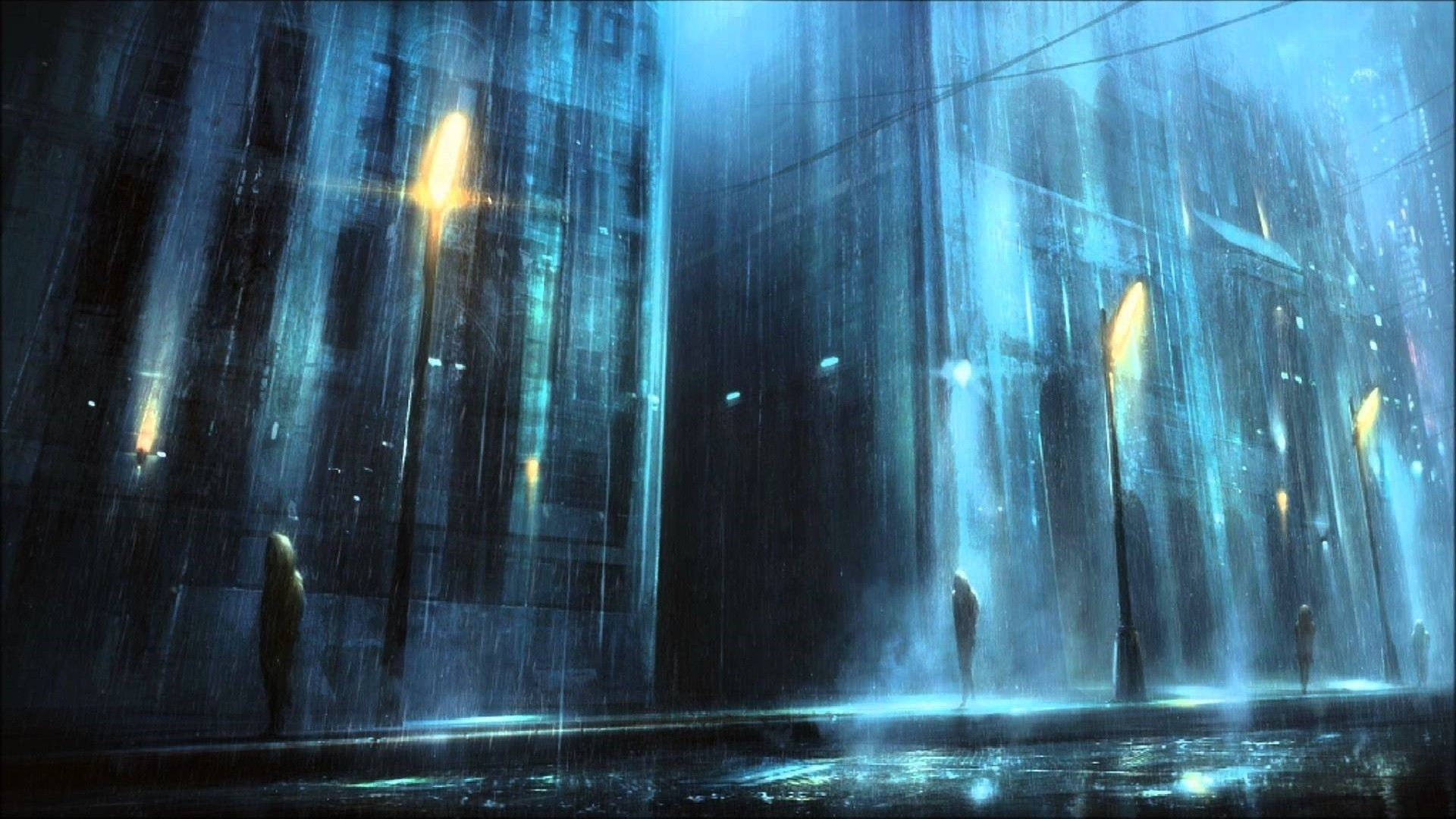Rain Art wallpaper for pc