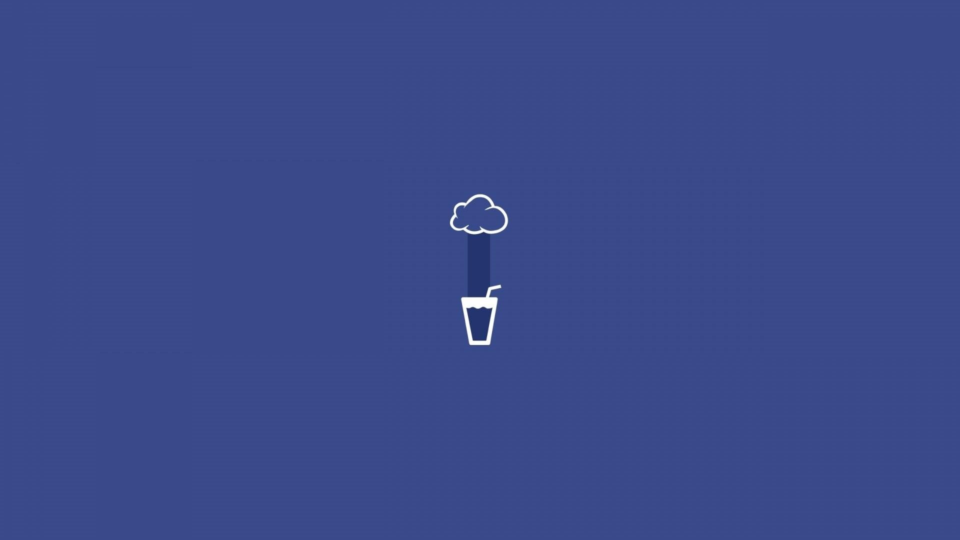 Rain Minimalist Image