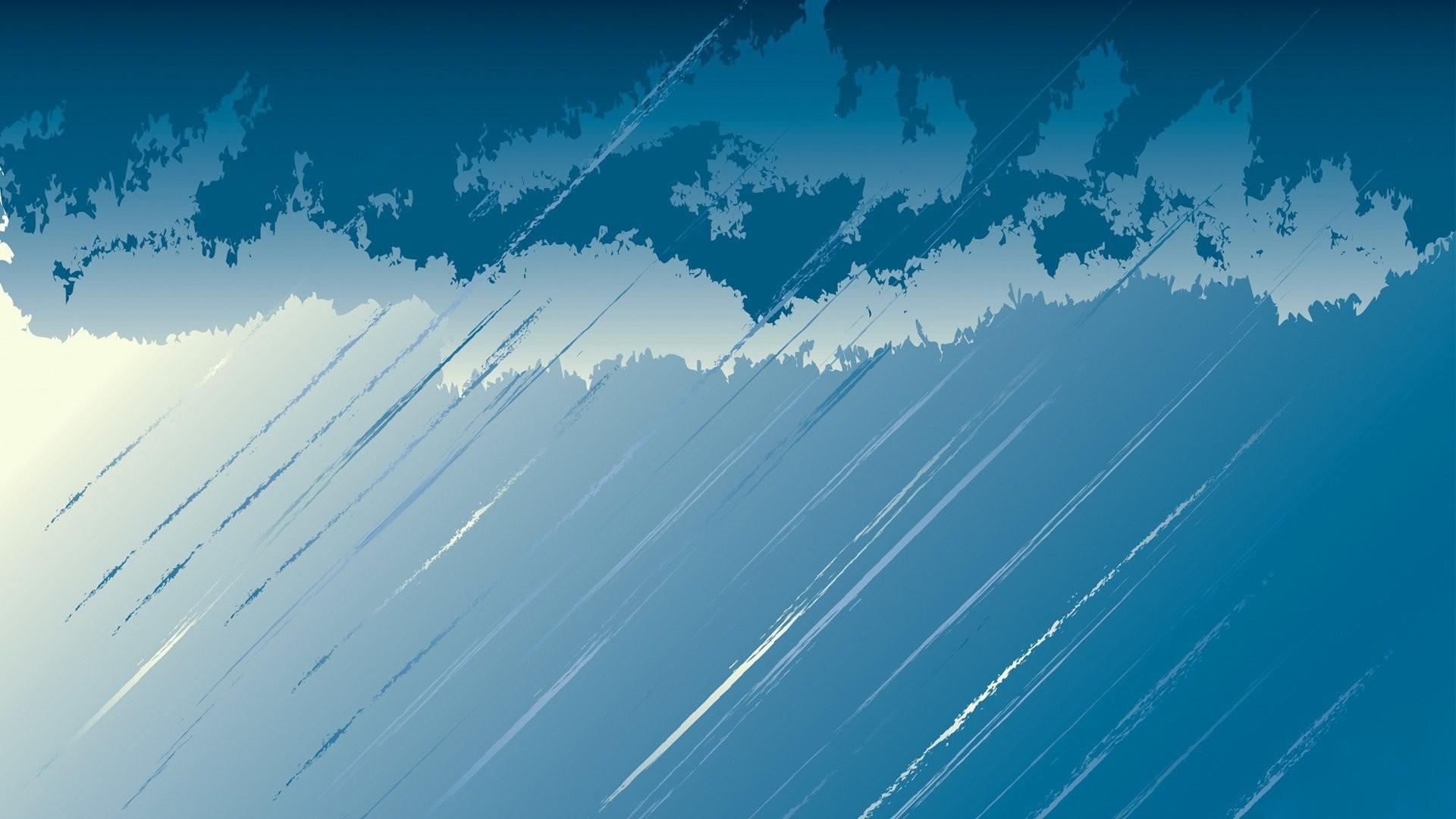 Rain Minimalist Pic