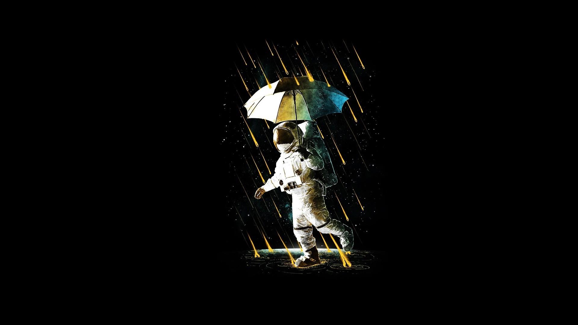 Rain Minimalist wallpaper for pc