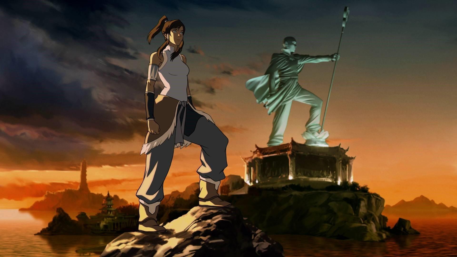 The Legend Of Korra HD Wallpaper