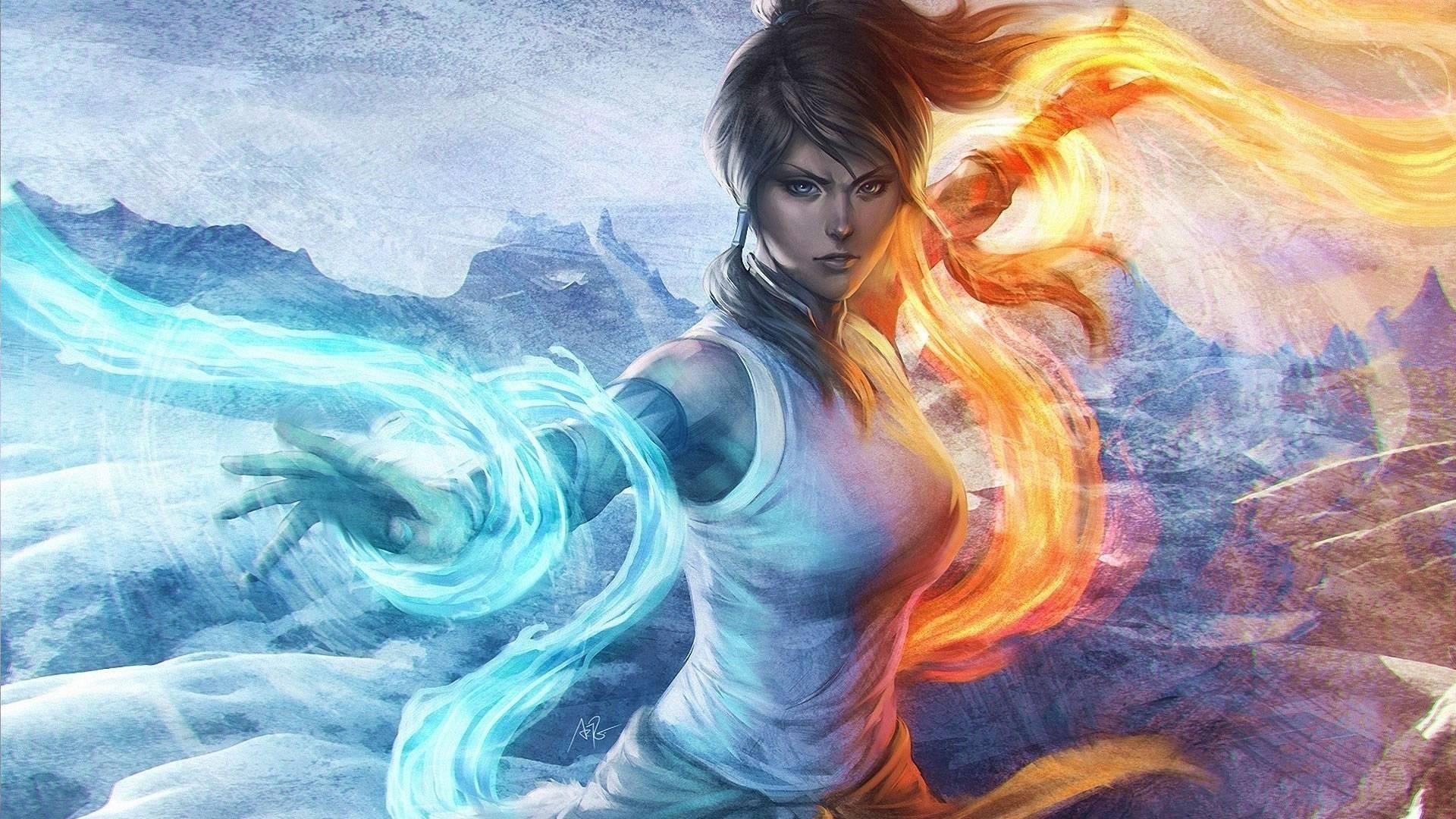 The Legend Of Korra Background