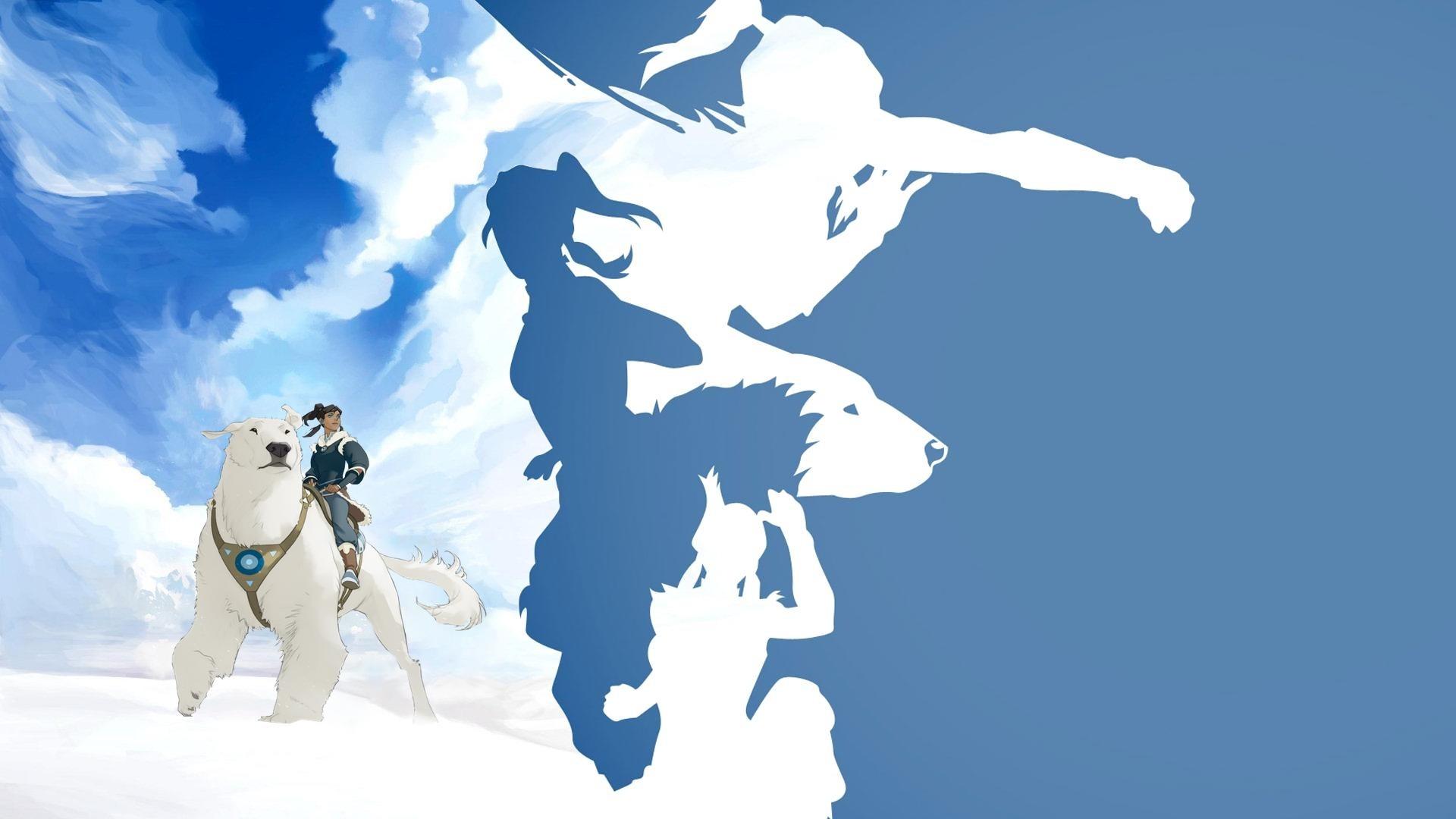 The Legend Of Korra Minimalist wallpaper for desktop