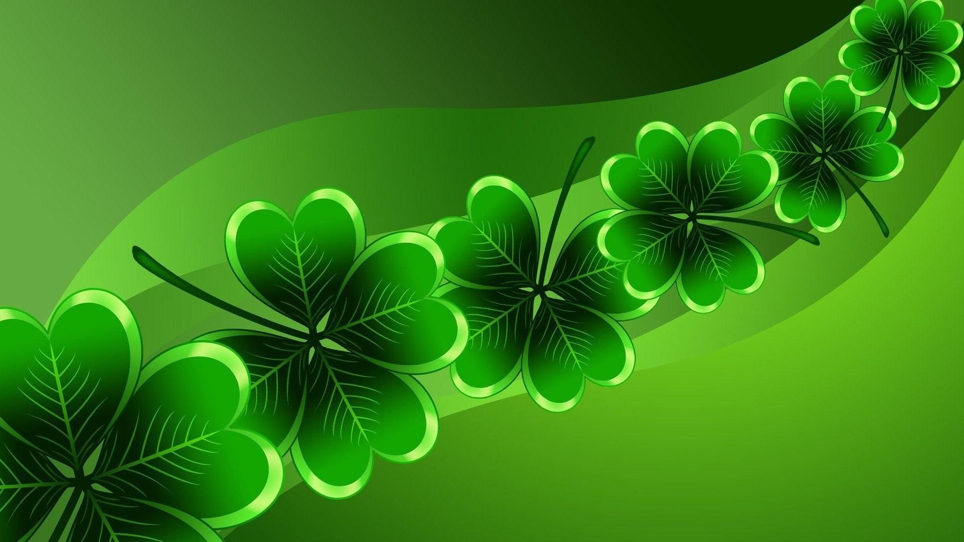 Green Clover wallpaper for desktop