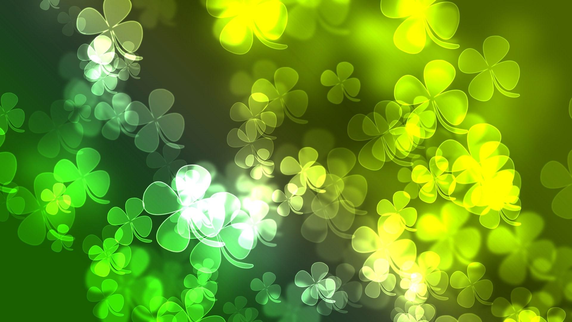Green Clover computer wallpaper