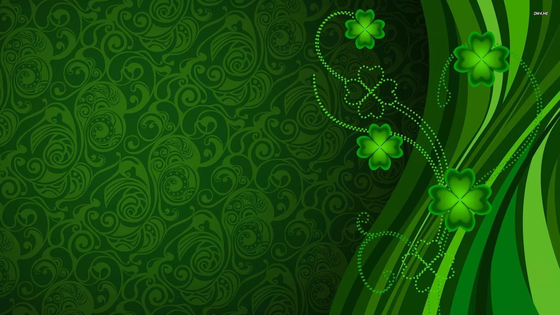Green Clover wallpaper for computer