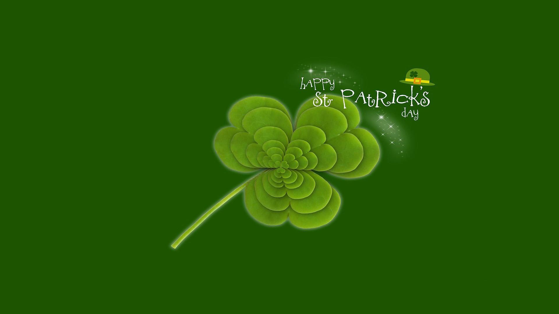 St. Patrick's Day 2021 computer wallpaper