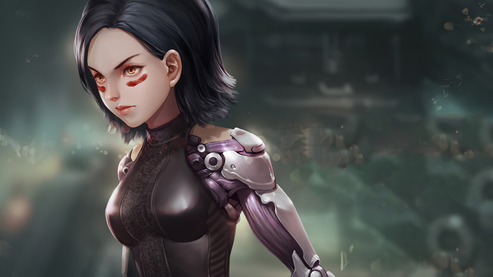 Alita Battle Angel wallpaper for desktop
