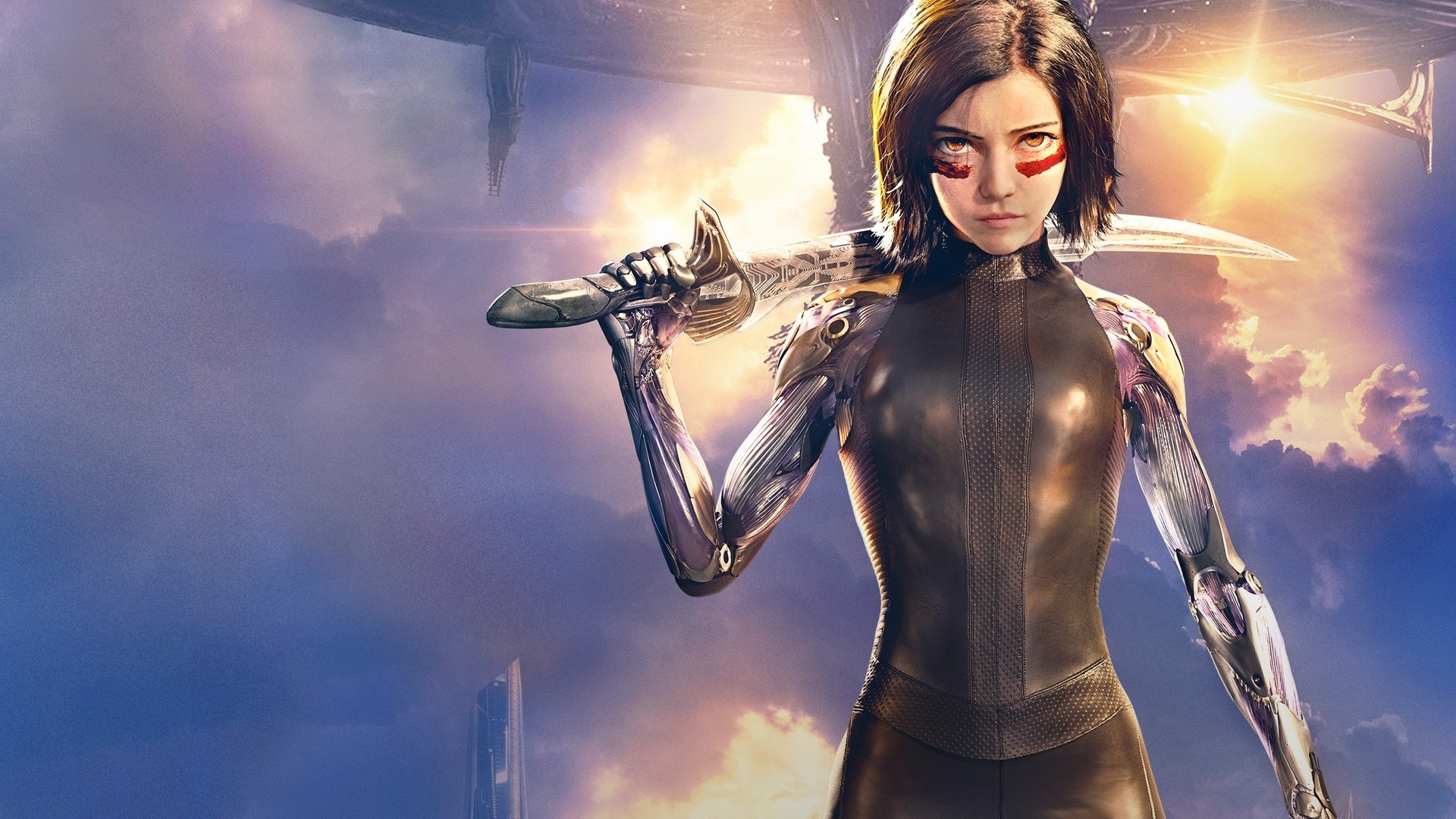 Alita Battle Angel wallpaper for computer