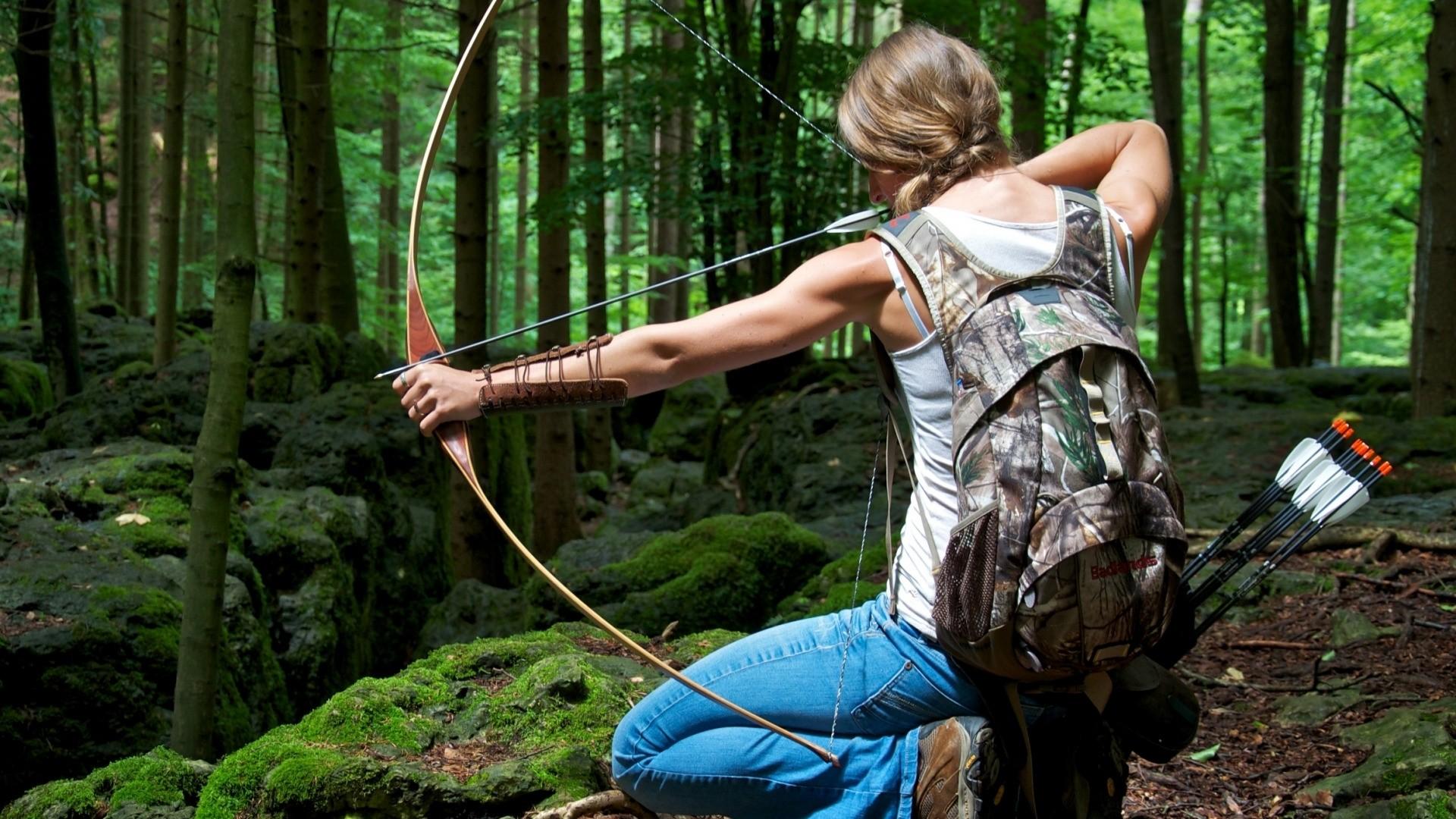 Archery Wallpaper theme