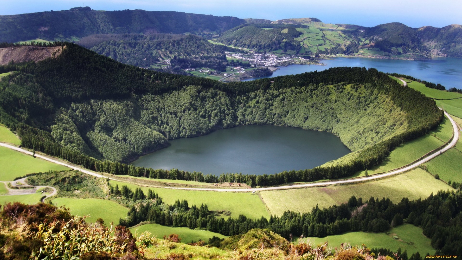 Azores Islands Background