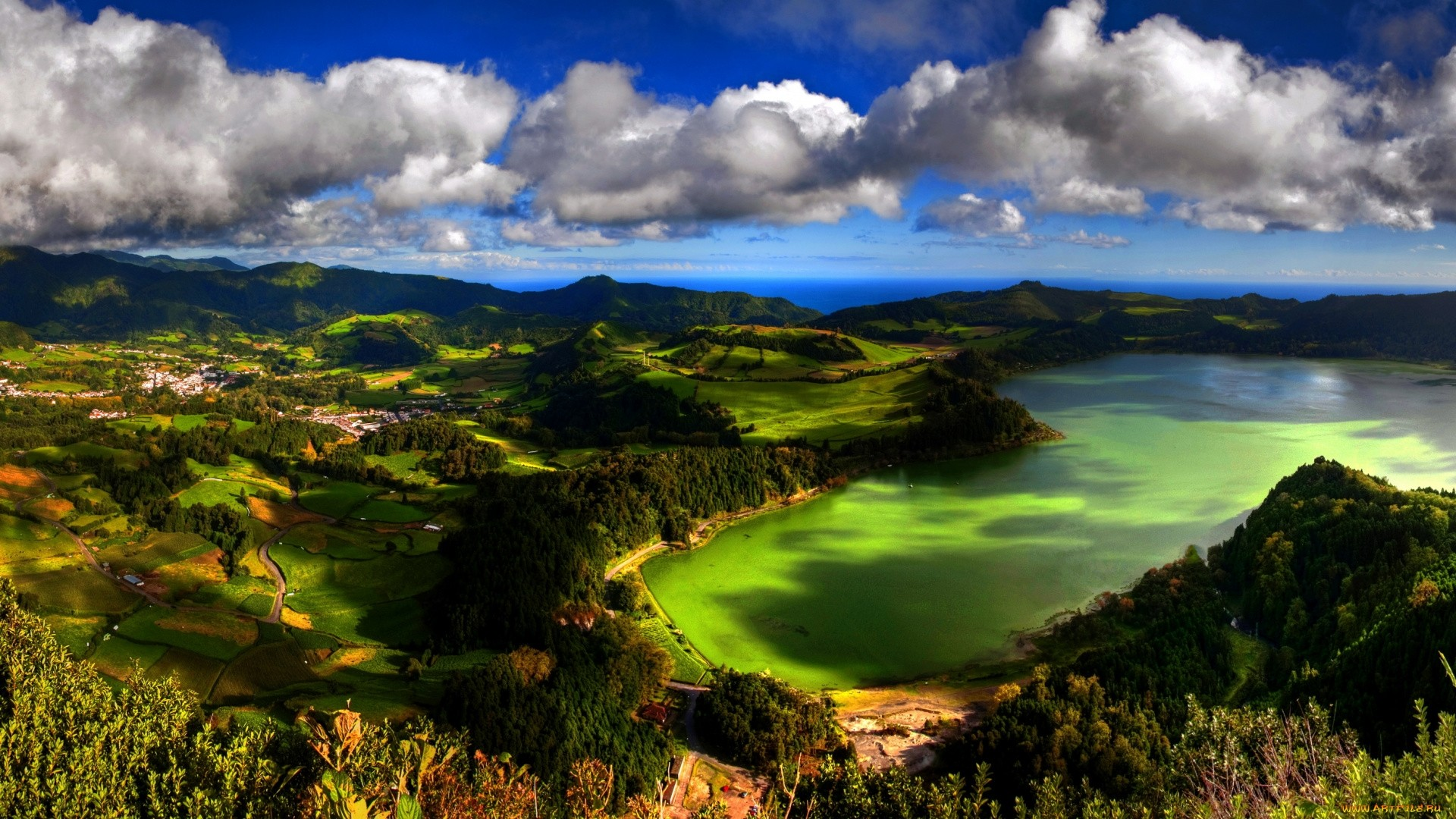 Azores Islands Wallpaper theme