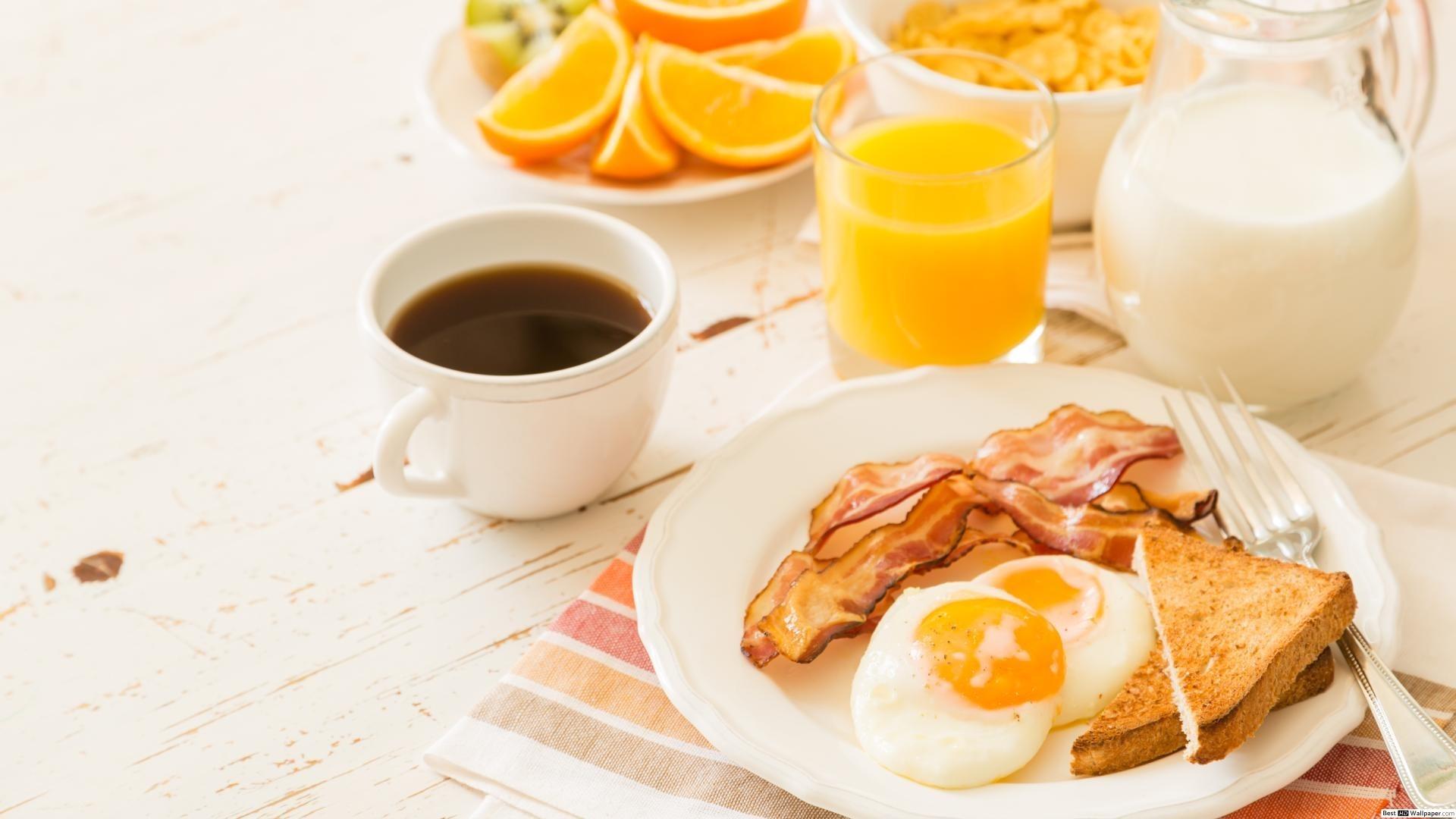 Breakfast Desktop Wallpaper